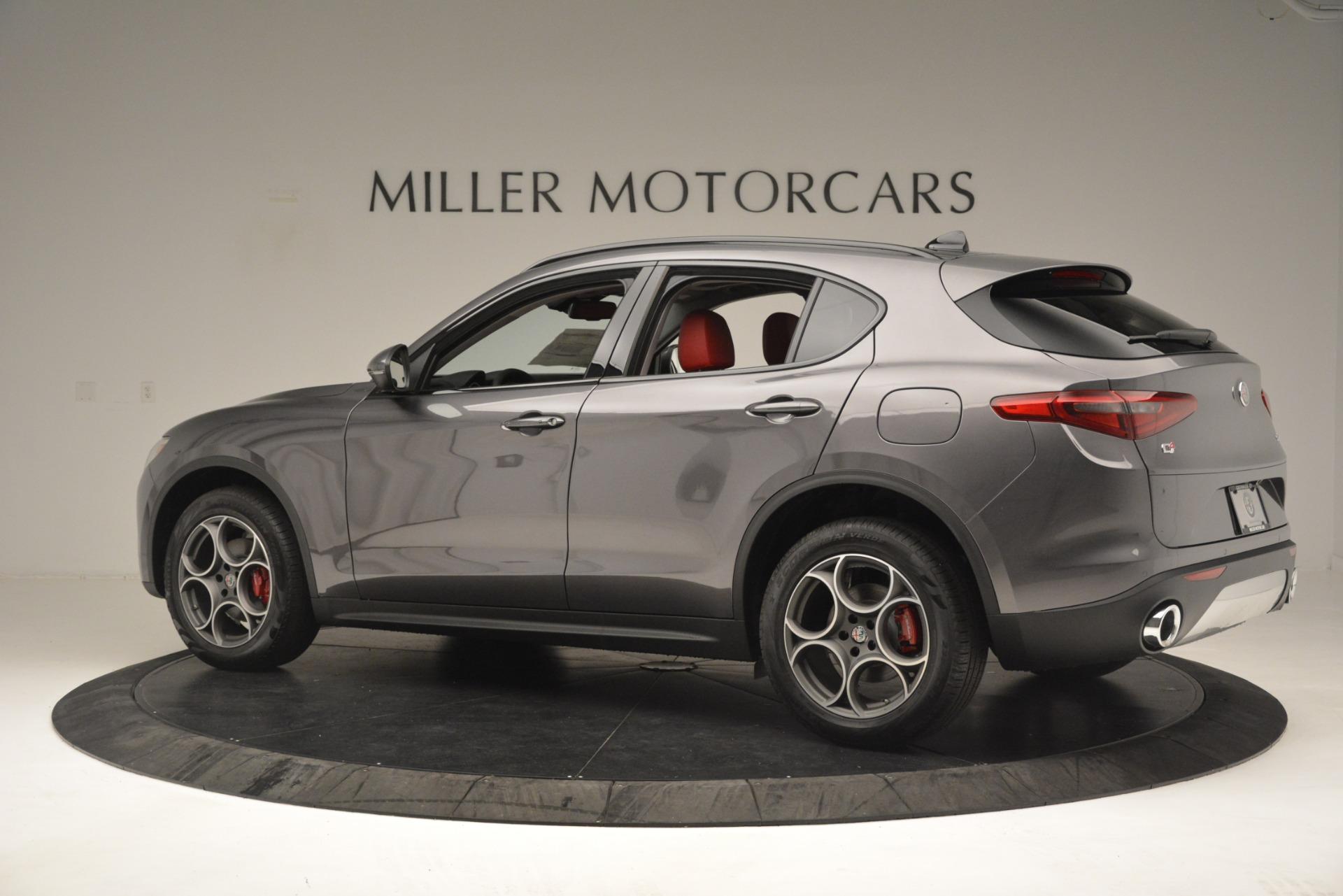 New 2019 Alfa Romeo Stelvio Sport Q4 For Sale In Greenwich, CT 3075_p4