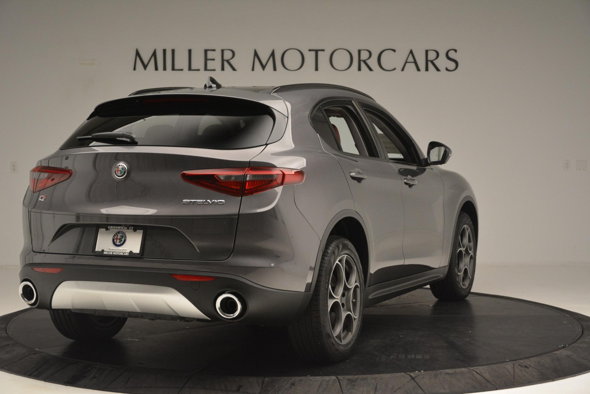 New 2019 Alfa Romeo Stelvio Sport Q4 For Sale In Greenwich, CT 3075_p7