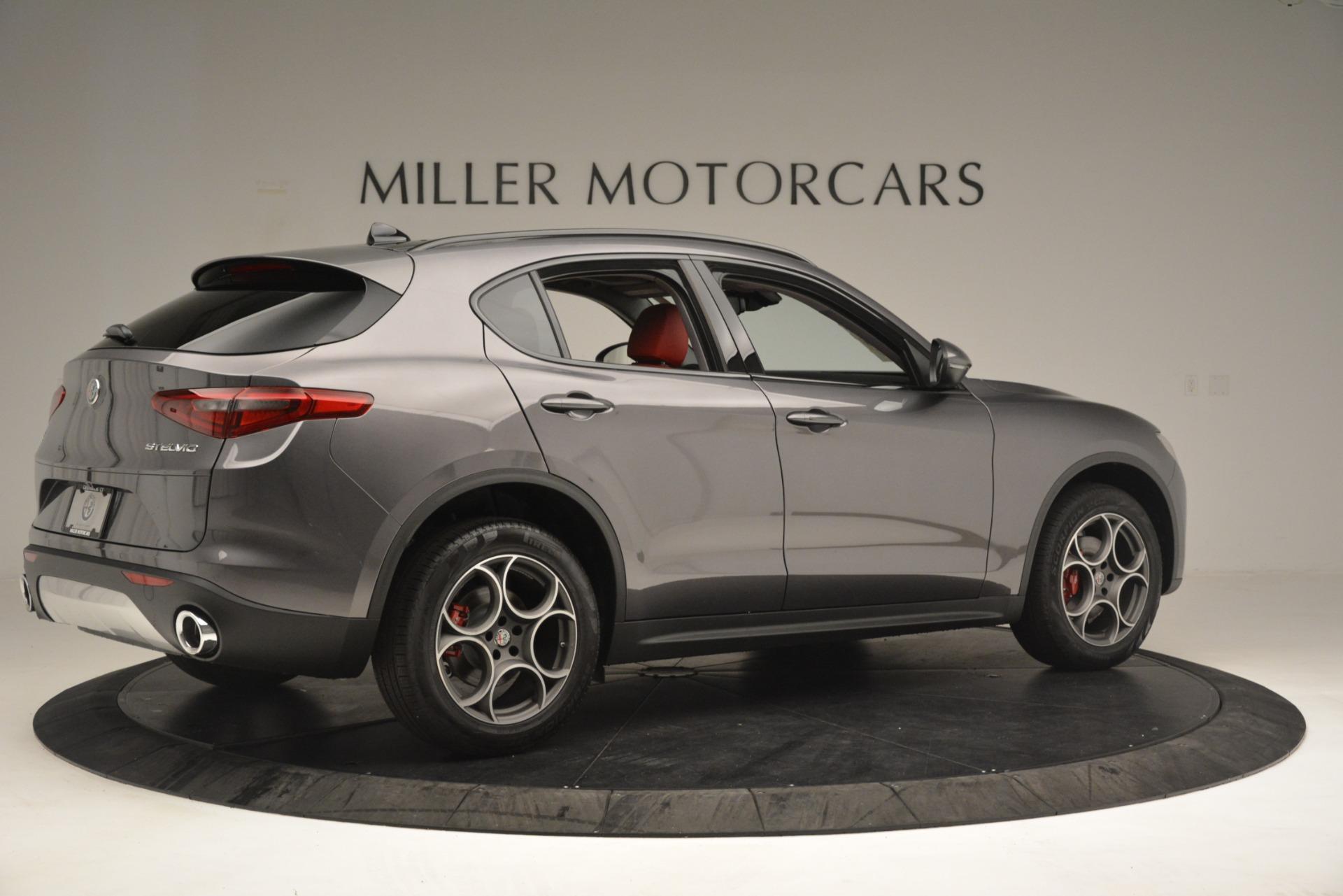 New 2019 Alfa Romeo Stelvio Sport Q4 For Sale In Greenwich, CT 3075_p8