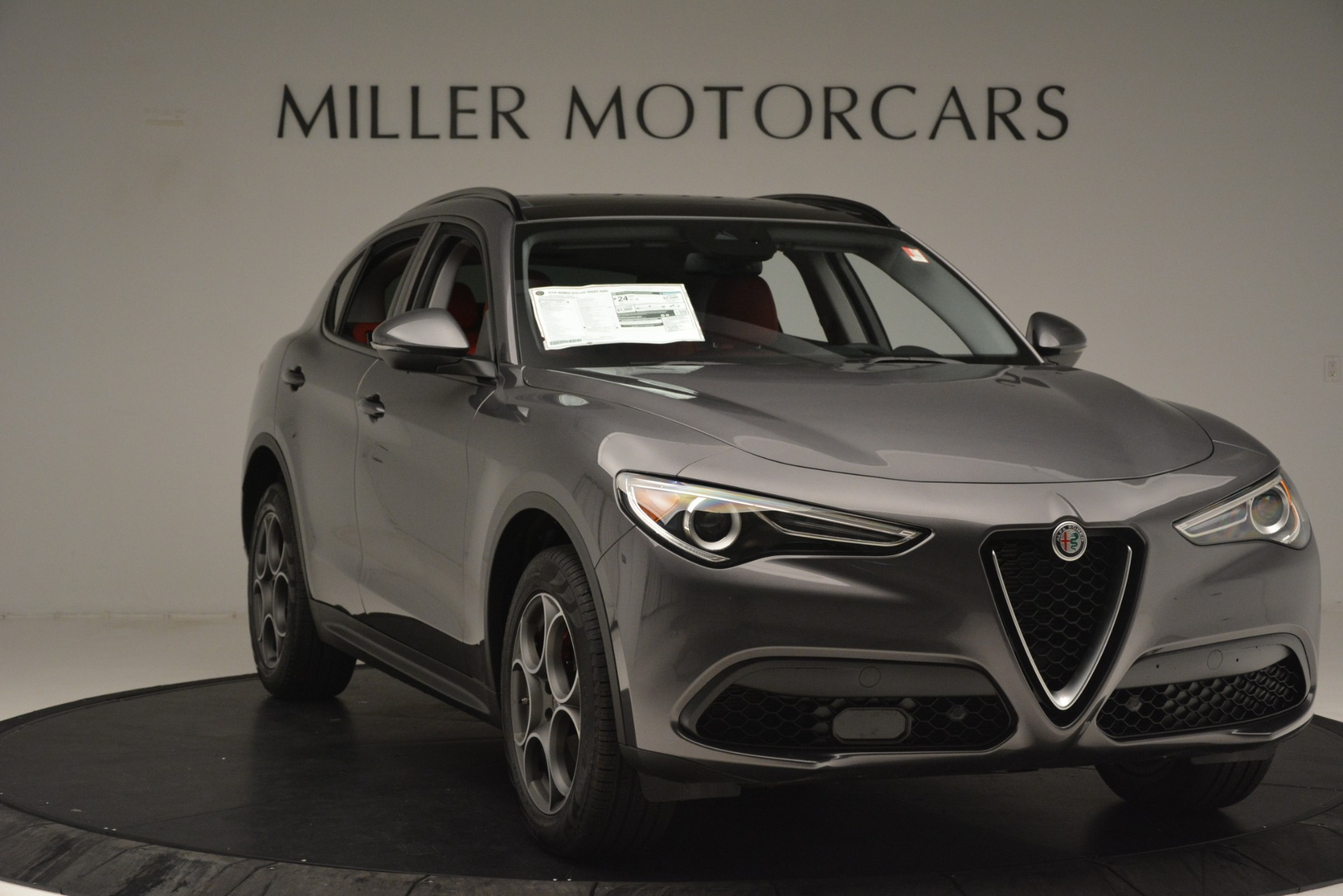 New 2019 Alfa Romeo Stelvio Sport Q4 For Sale In Greenwich, CT 3076_p11