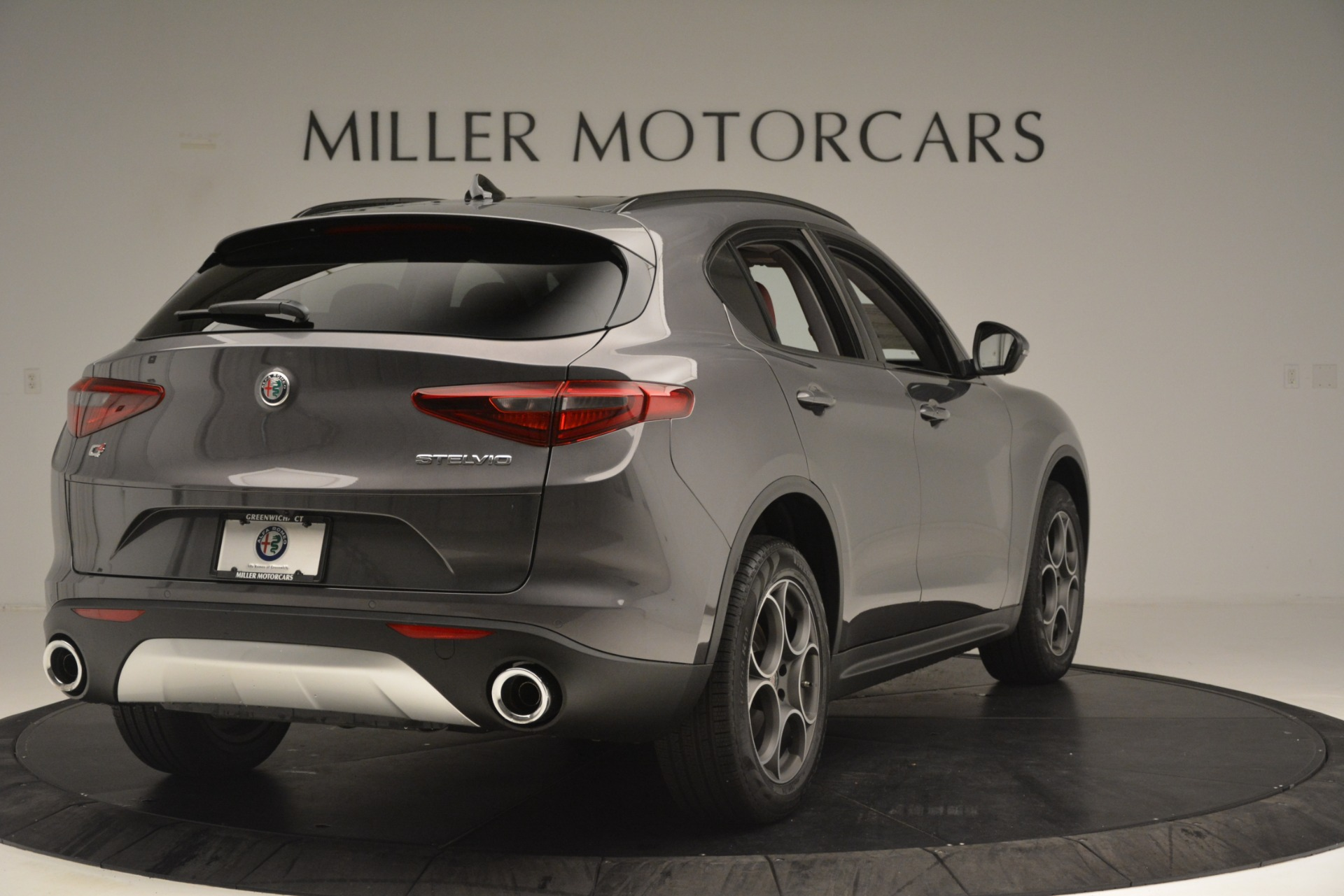 New 2019 Alfa Romeo Stelvio Sport Q4 For Sale In Greenwich, CT 3076_p7