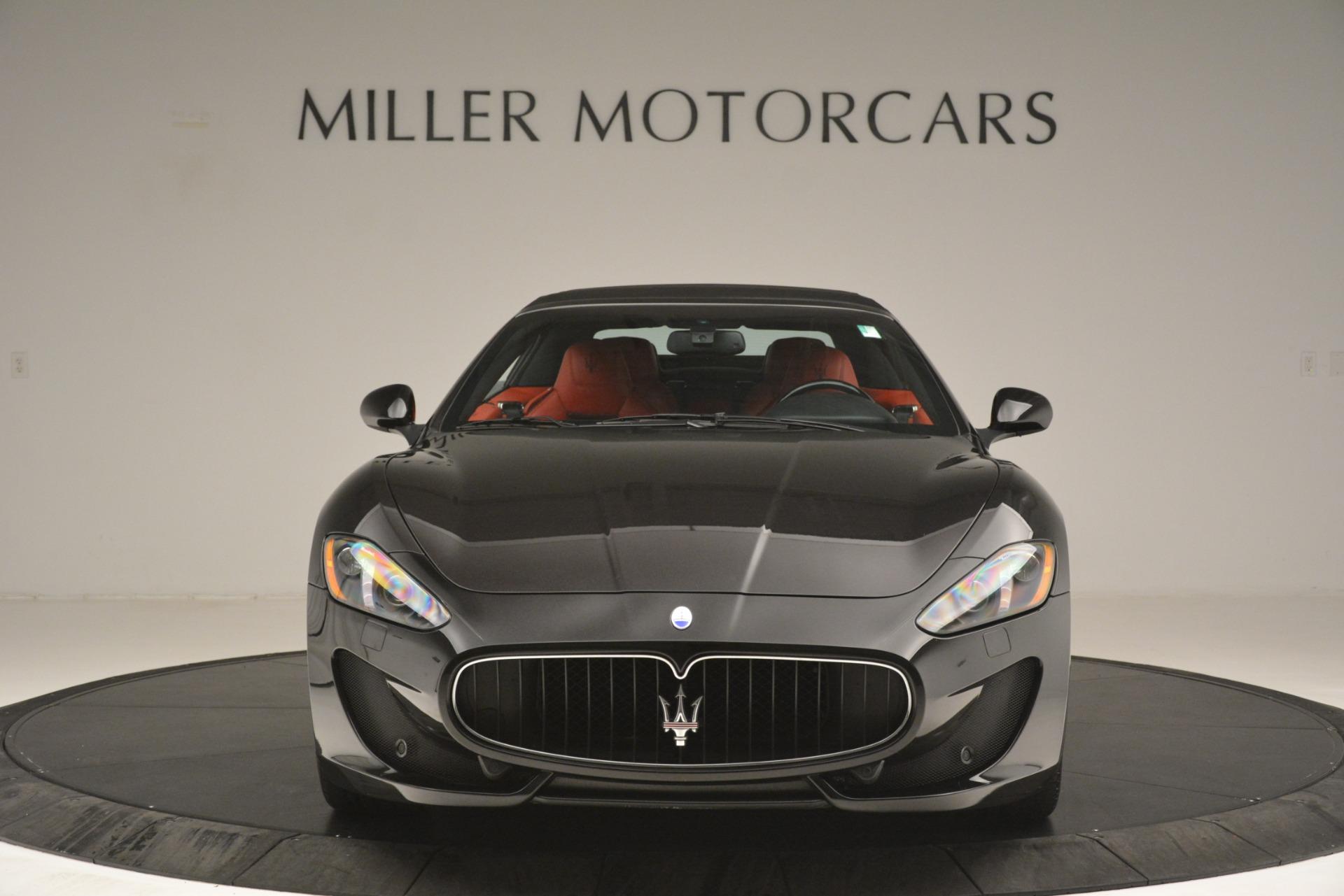 Used 2015 Maserati GranTurismo Sport For Sale In Greenwich, CT 3085_p24
