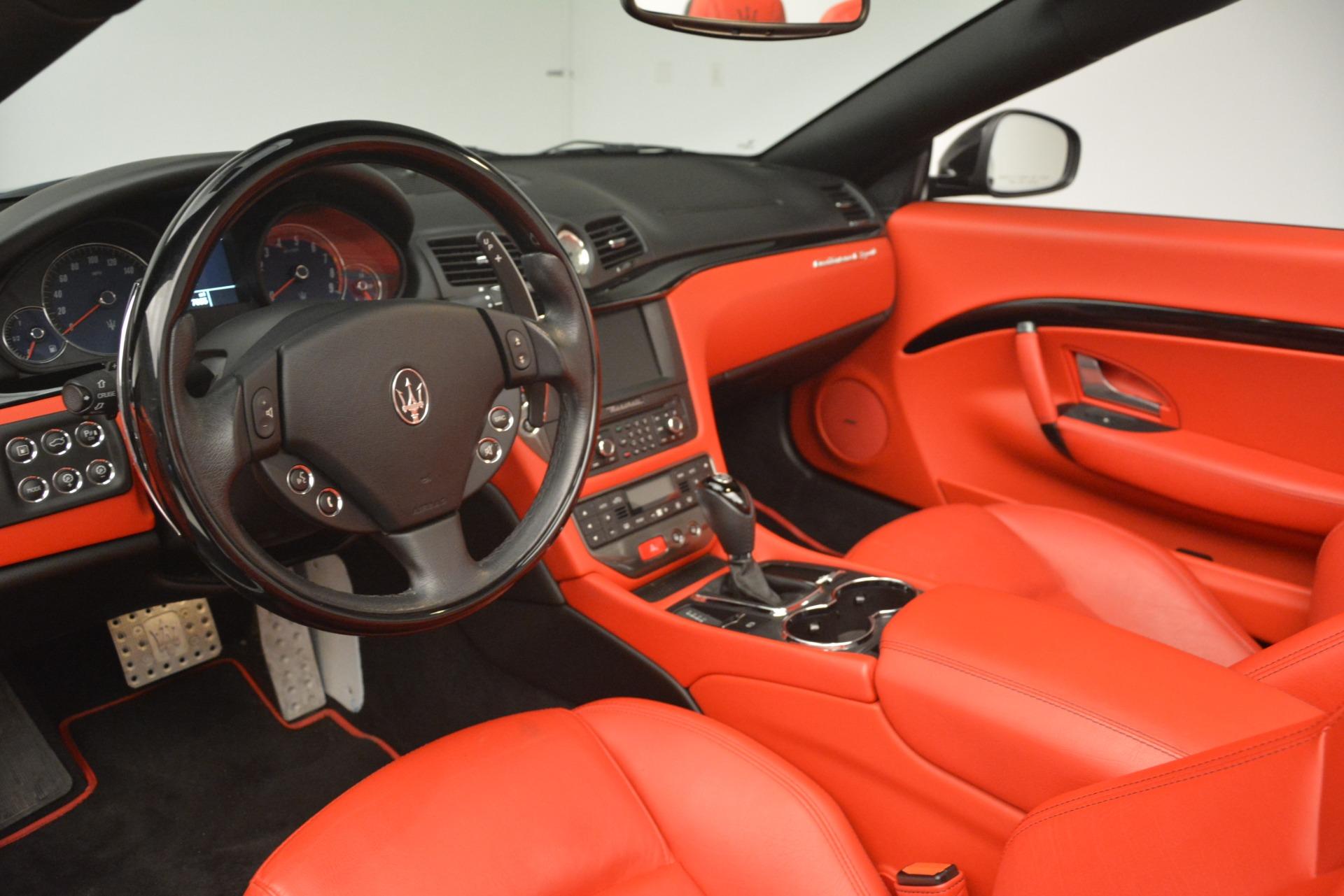 Used 2015 Maserati GranTurismo Sport For Sale In Greenwich, CT 3085_p25