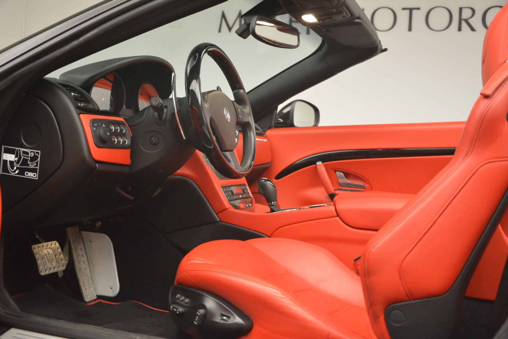 Used 2015 Maserati GranTurismo Sport For Sale In Greenwich, CT 3085_p26