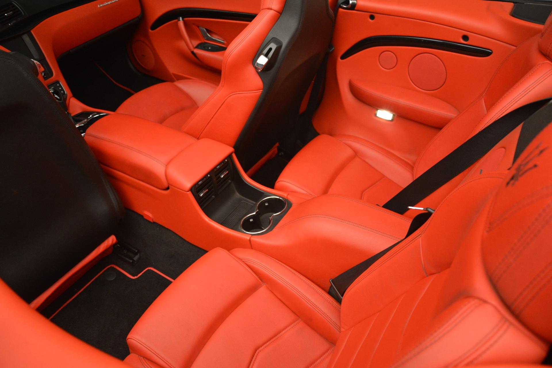 Used 2015 Maserati GranTurismo Sport For Sale In Greenwich, CT 3085_p32