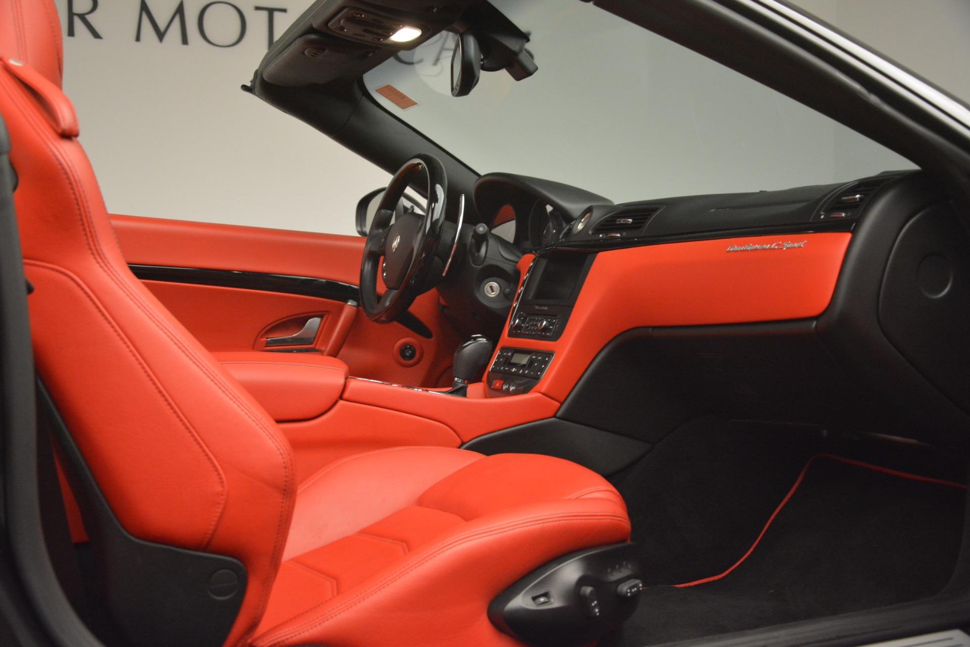 Used 2015 Maserati GranTurismo Sport For Sale In Greenwich, CT 3085_p34