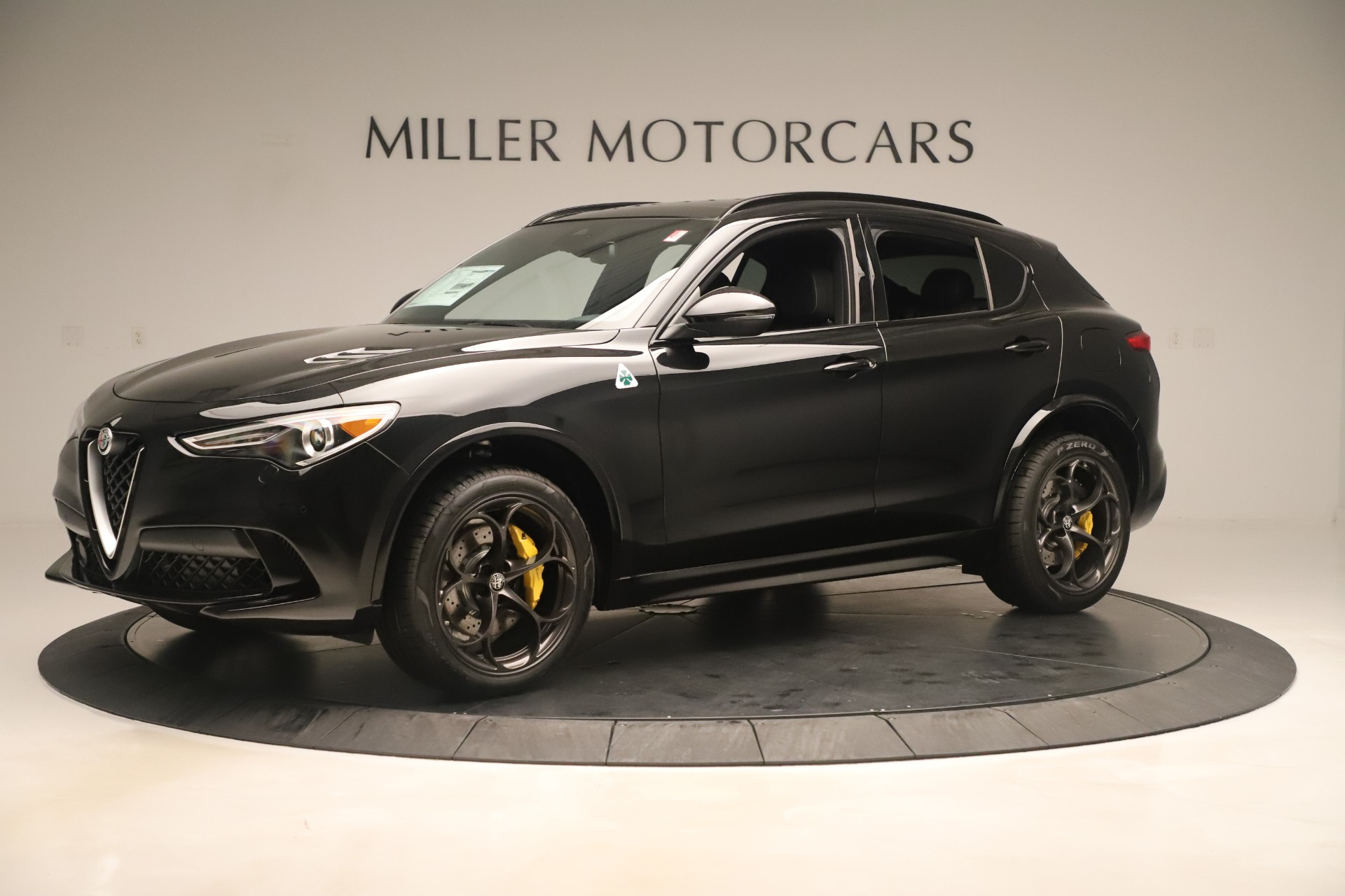 New 2019 Alfa Romeo Stelvio Quadrifoglio For Sale In Greenwich, CT 3093_p2