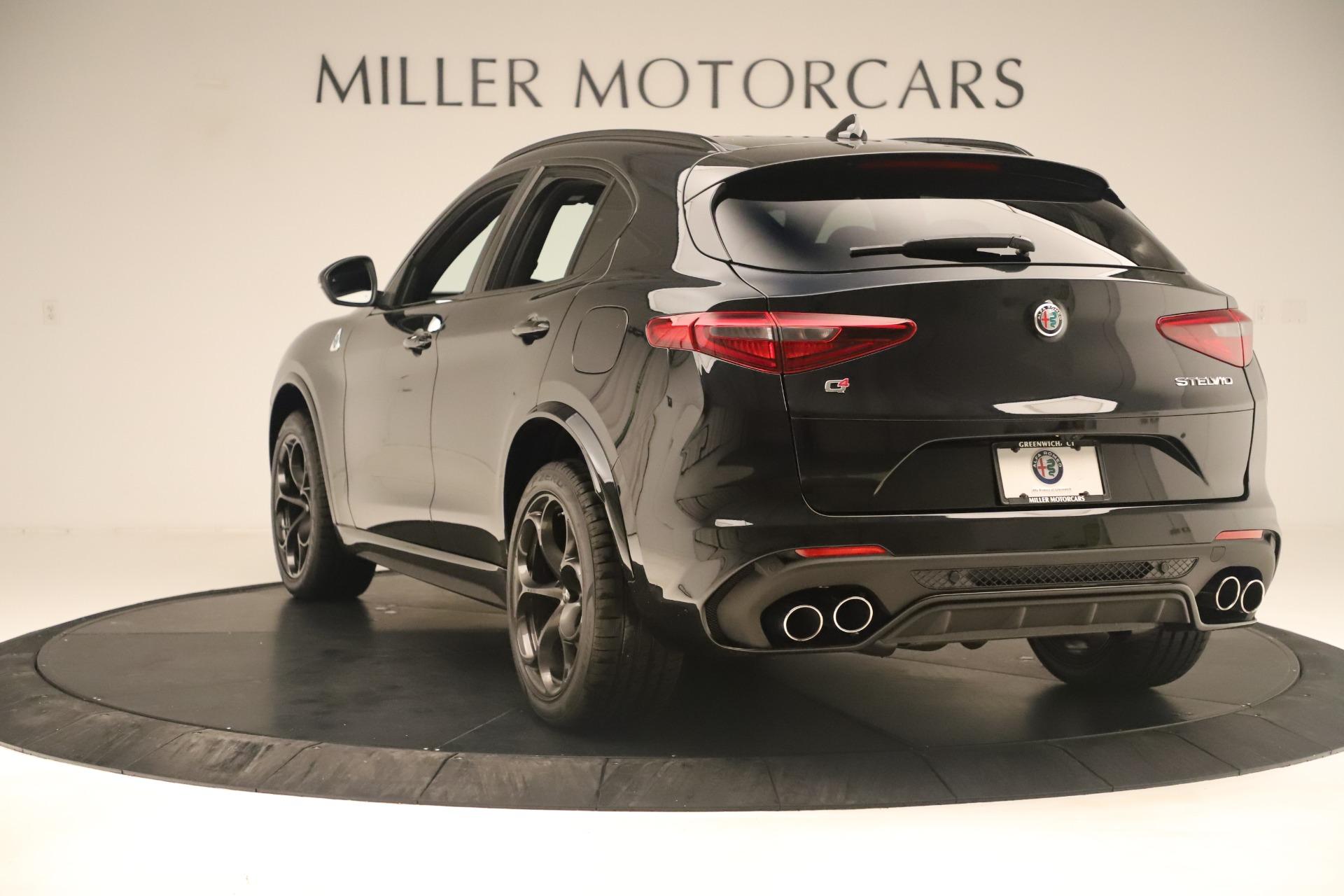 New 2019 Alfa Romeo Stelvio Quadrifoglio For Sale In Greenwich, CT 3093_p5