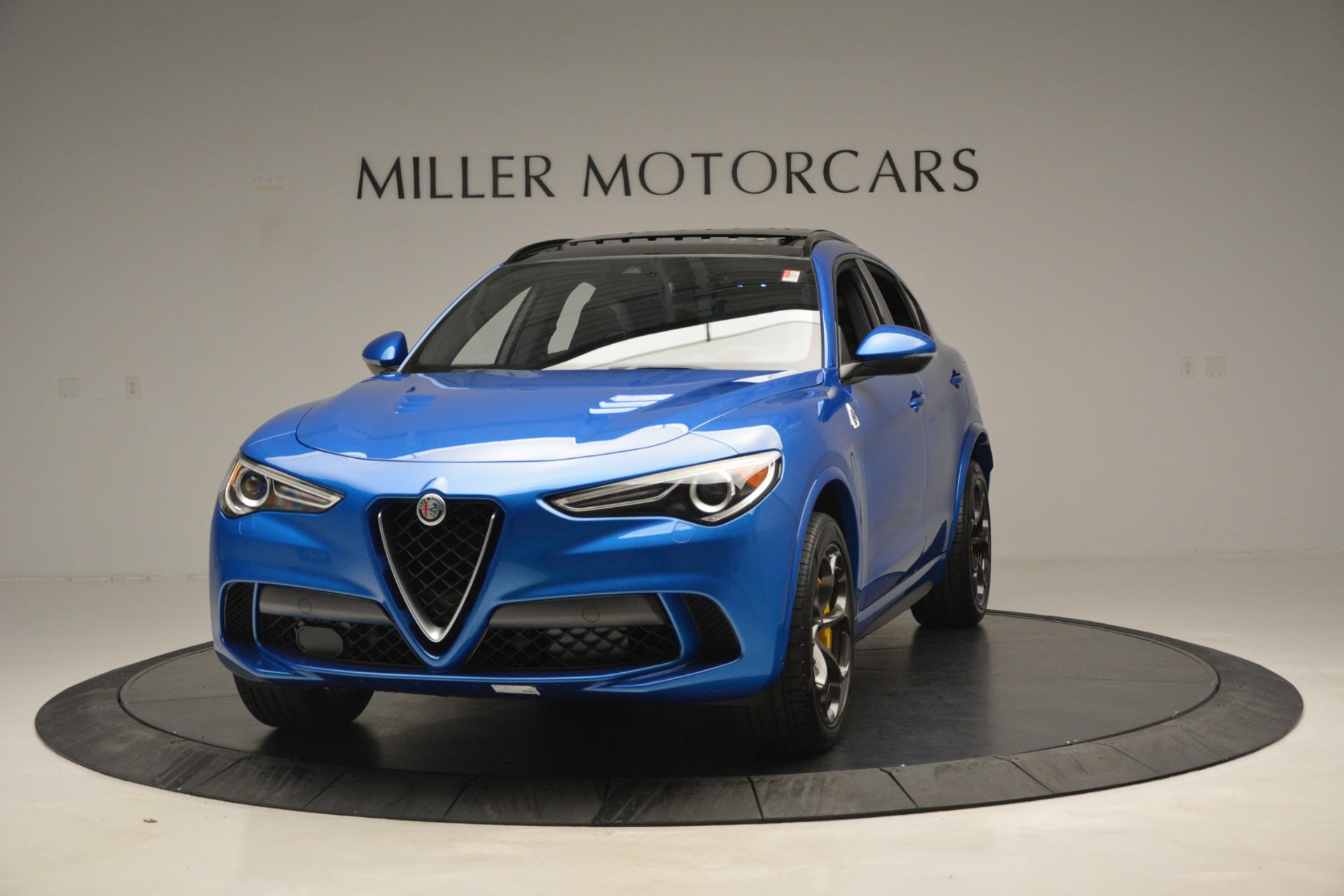 New 2019 Alfa Romeo Stelvio Quadrifoglio For Sale In Greenwich, CT 3094_main