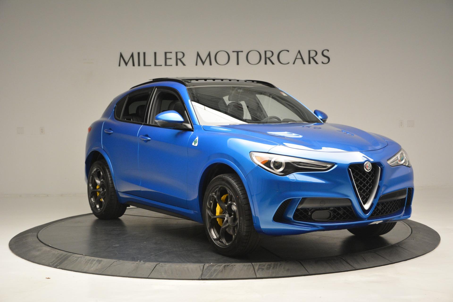 New 2019 Alfa Romeo Stelvio Quadrifoglio For Sale In Greenwich, CT 3094_p17