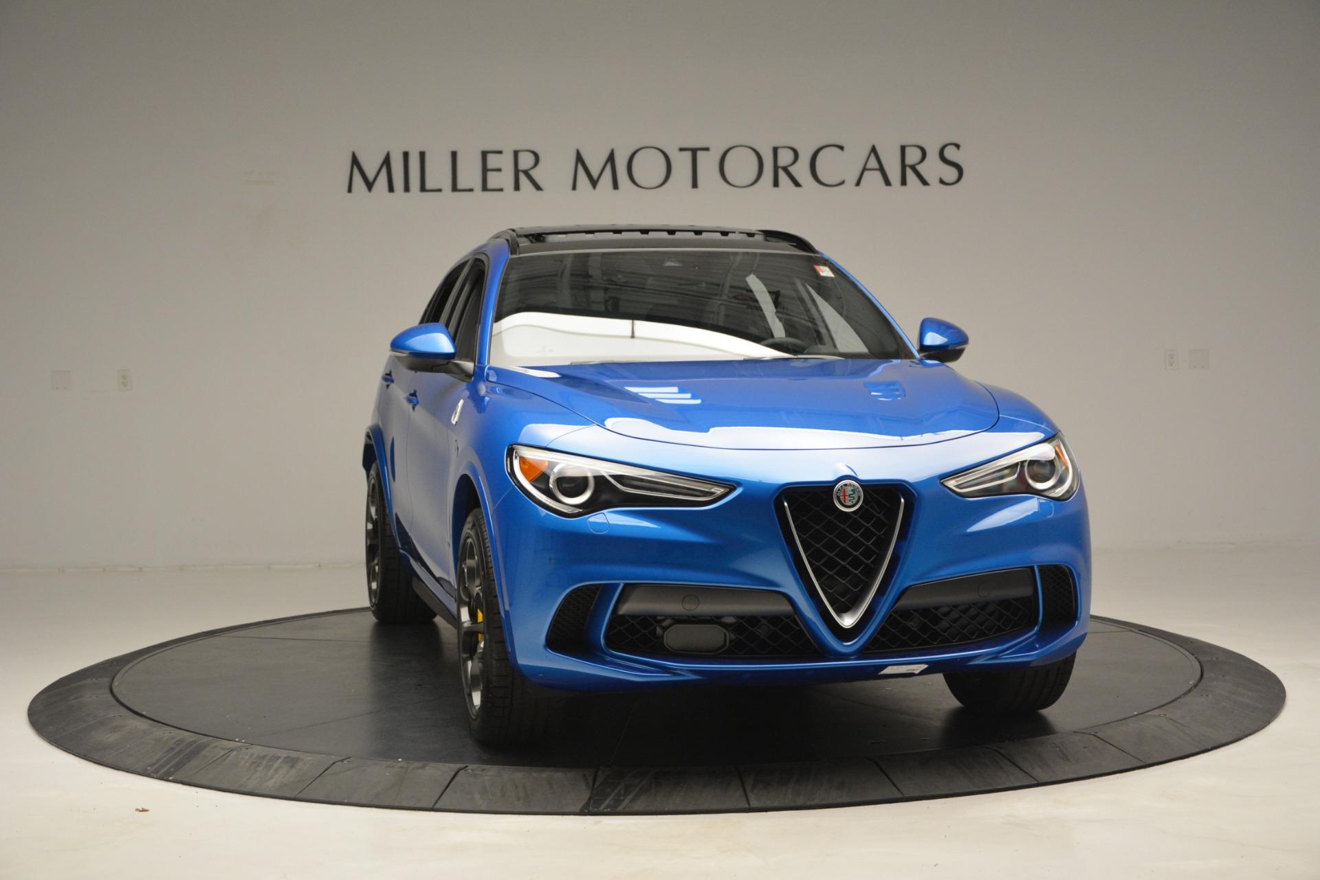 New 2019 Alfa Romeo Stelvio Quadrifoglio For Sale In Greenwich, CT 3094_p18