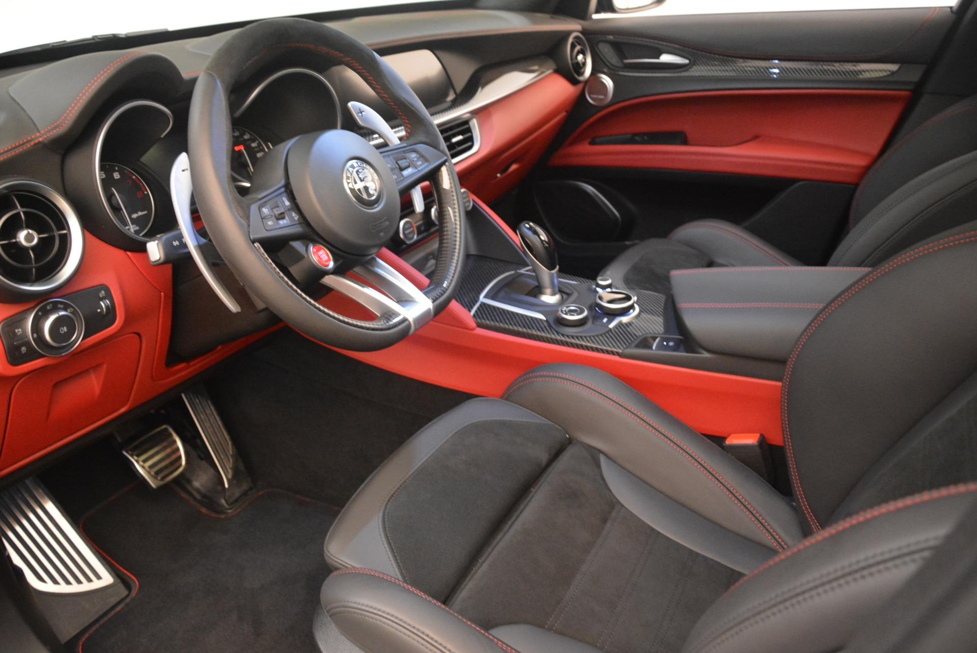 New 2019 Alfa Romeo Stelvio Quadrifoglio For Sale In Greenwich, CT 3095_p13