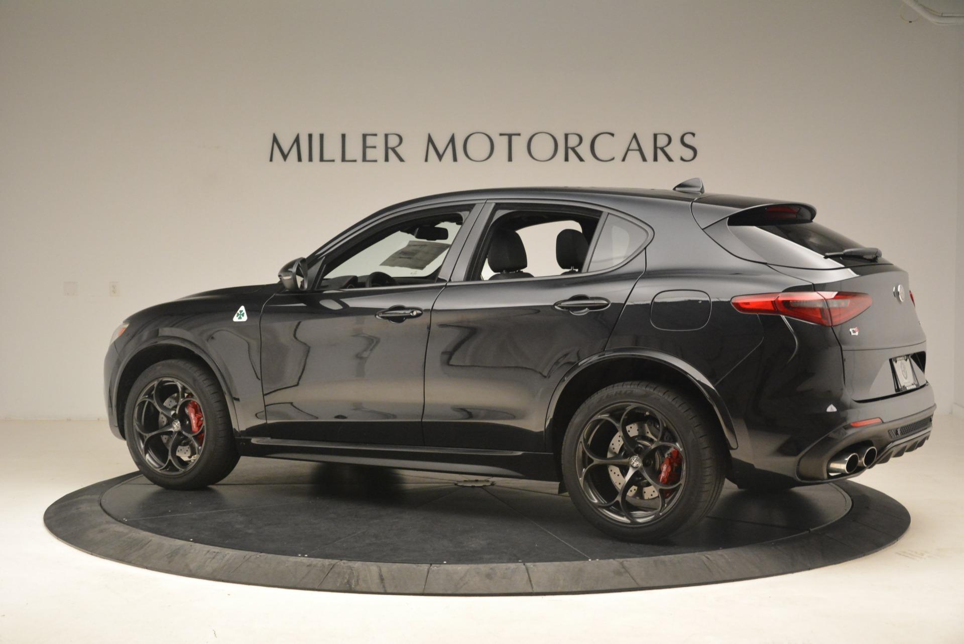 New 2019 Alfa Romeo Stelvio Quadrifoglio For Sale In Greenwich, CT 3095_p4