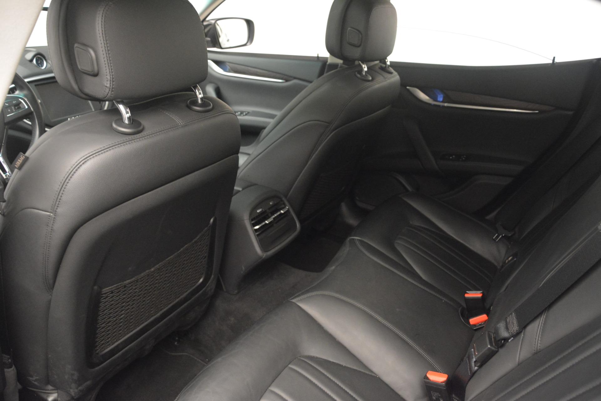 Used 2015 Maserati Ghibli S Q4 For Sale In Greenwich, CT 3102_p24
