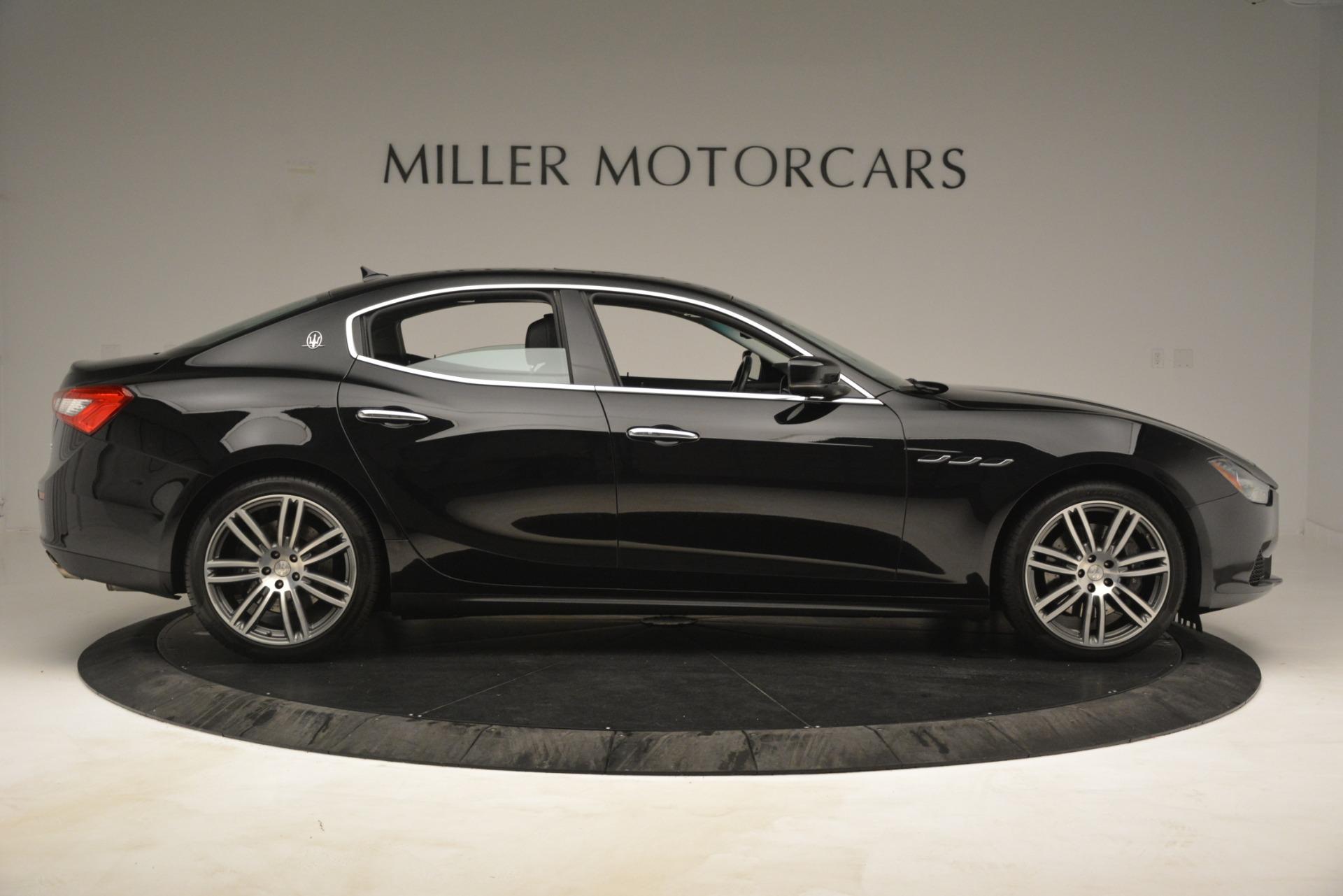 Used 2015 Maserati Ghibli S Q4 For Sale In Greenwich, CT 3102_p9