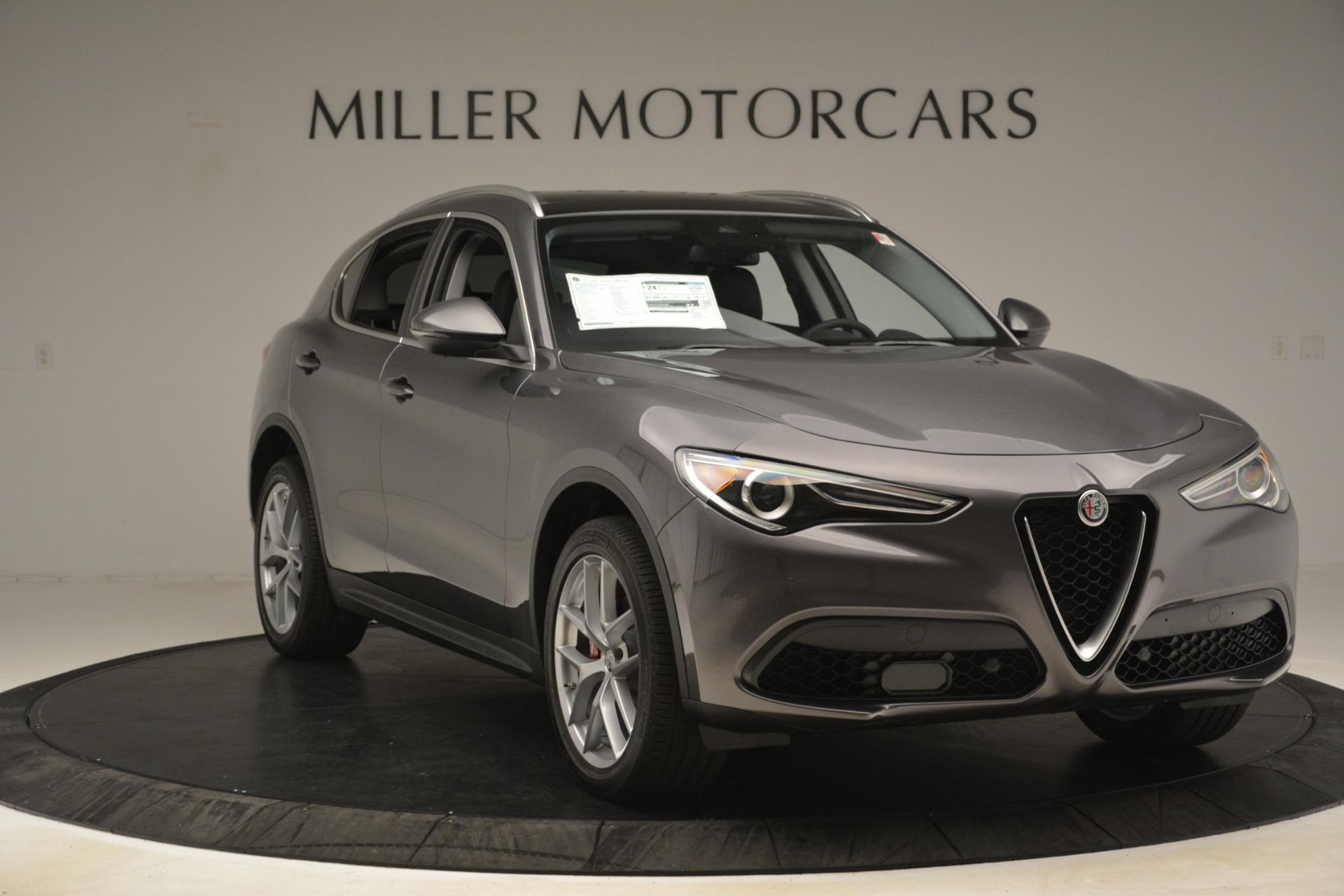 New 2019 Alfa Romeo Stelvio Ti Lusso Q4 For Sale In Greenwich, CT 3128_p11