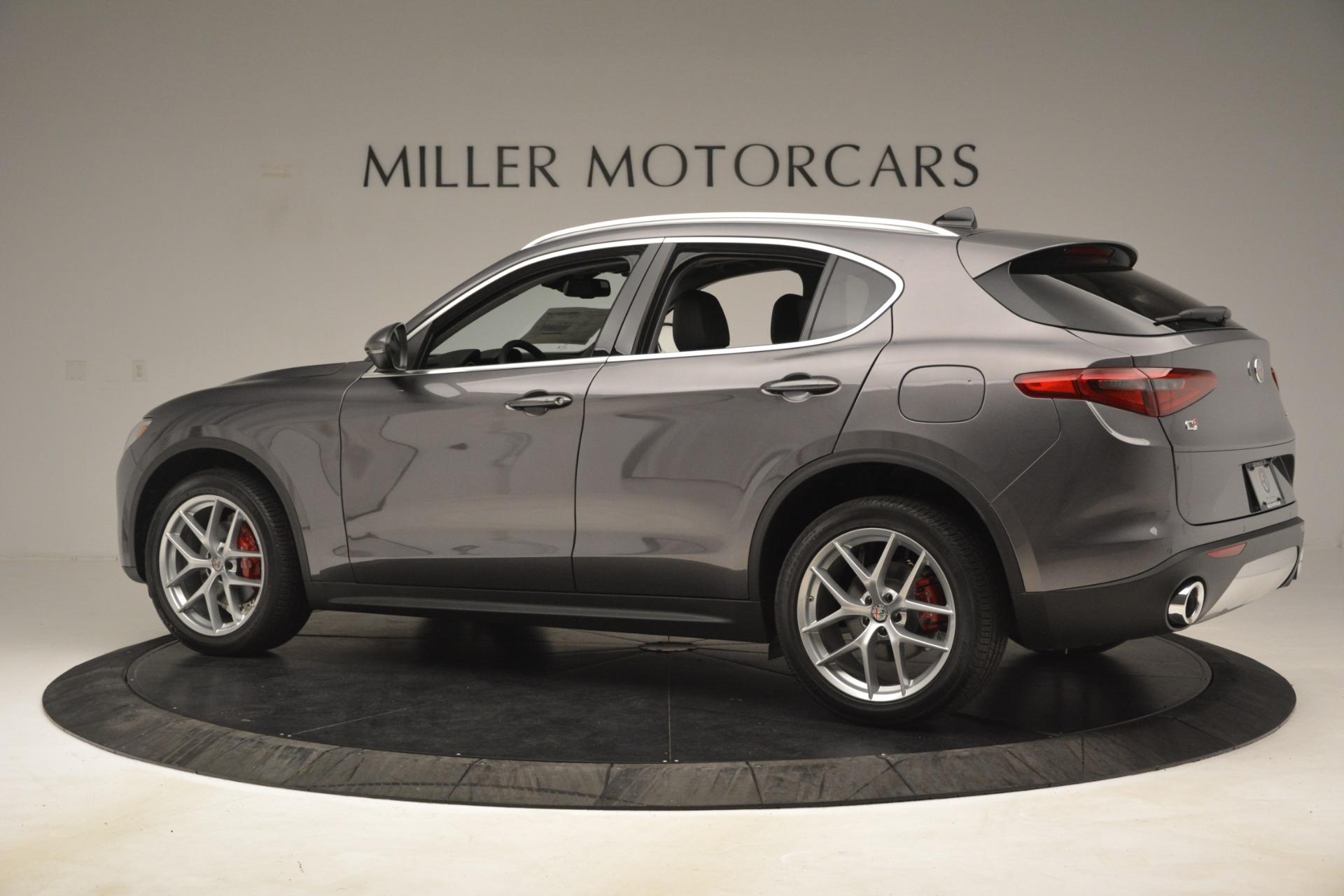 New 2019 Alfa Romeo Stelvio Ti Lusso Q4 For Sale In Greenwich, CT 3128_p4