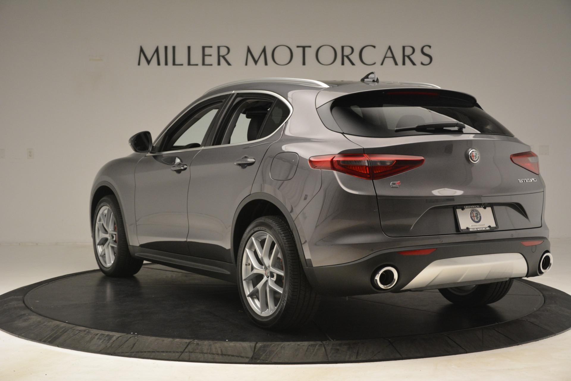 New 2019 Alfa Romeo Stelvio Ti Lusso Q4 For Sale In Greenwich, CT 3129_p5