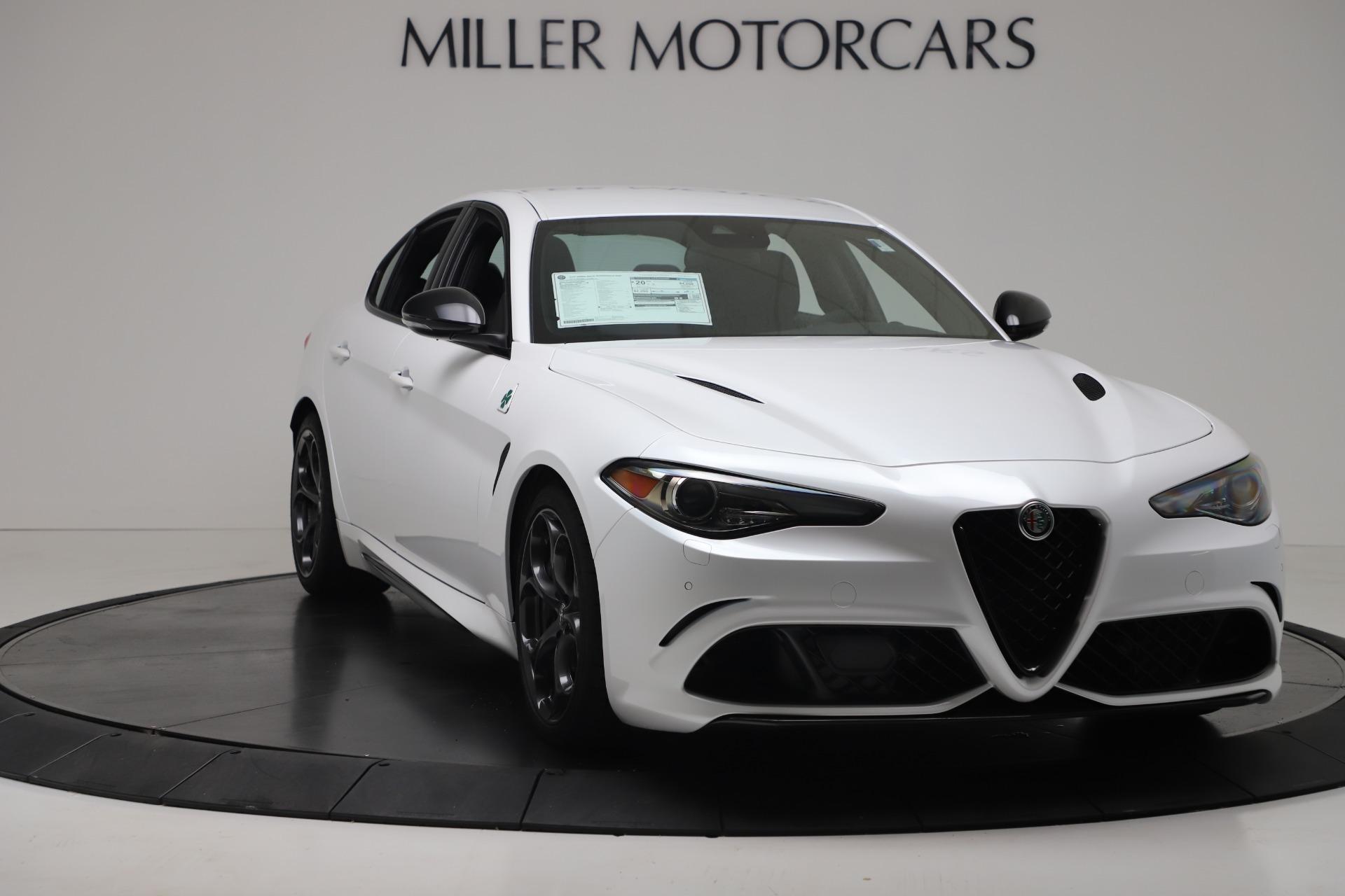New 2019 Alfa Romeo Giulia Quadrifoglio For Sale In Greenwich, CT 3130_p11