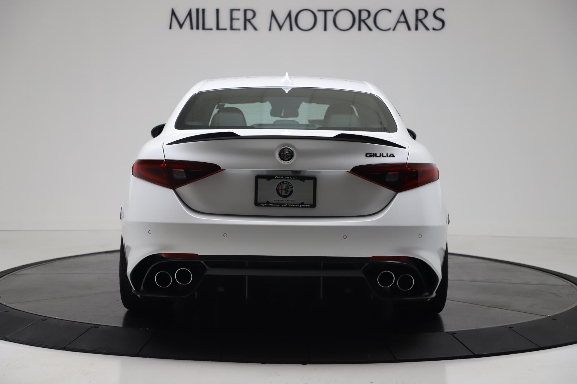 New 2019 Alfa Romeo Giulia Quadrifoglio For Sale In Greenwich, CT 3130_p6