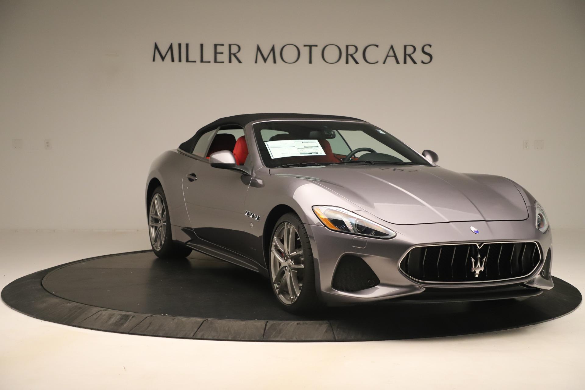 New 2018 Maserati GranTurismo Sport Convertible For Sale In Greenwich, CT 3131_p18
