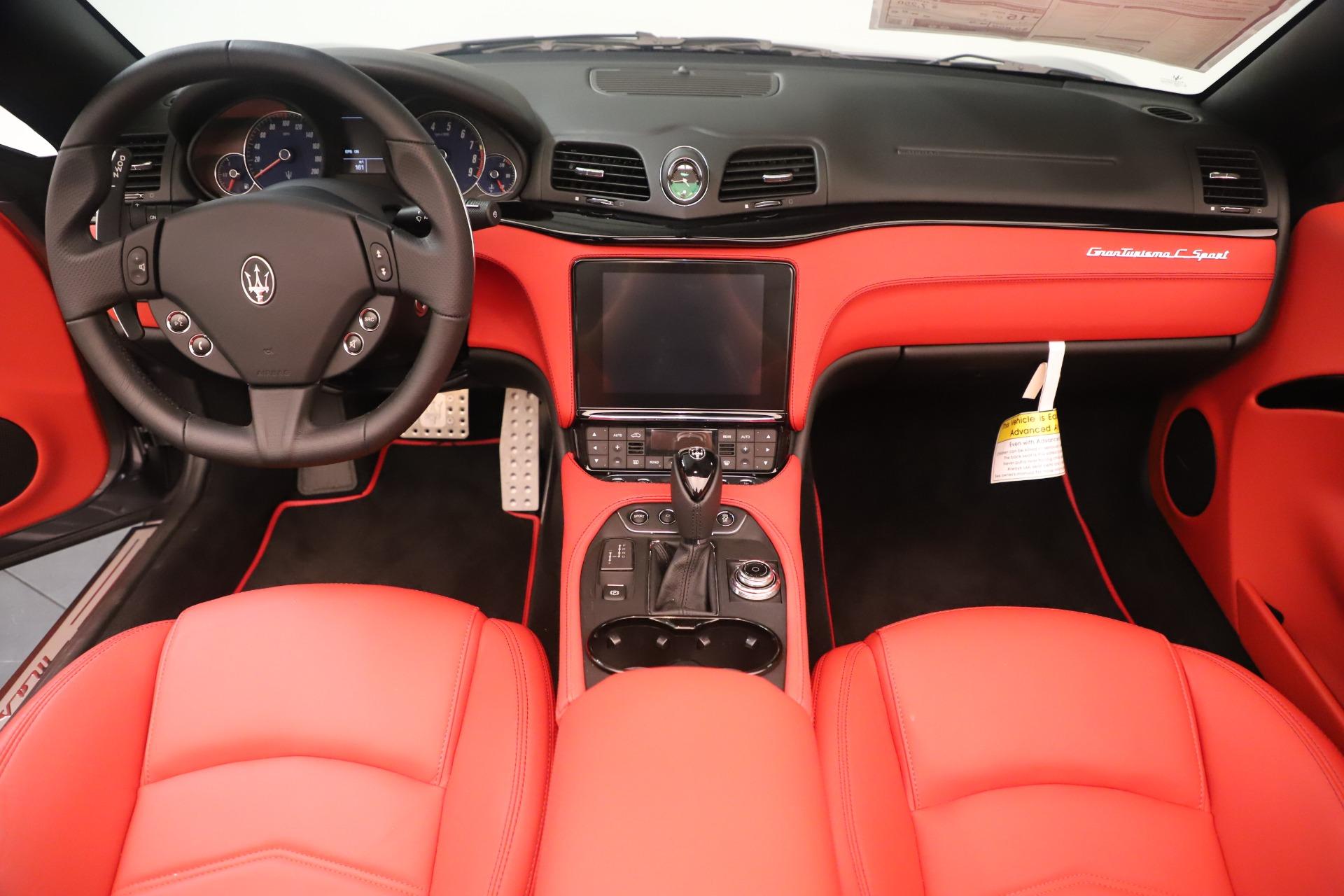 New 2018 Maserati GranTurismo Sport Convertible For Sale In Greenwich, CT 3131_p22