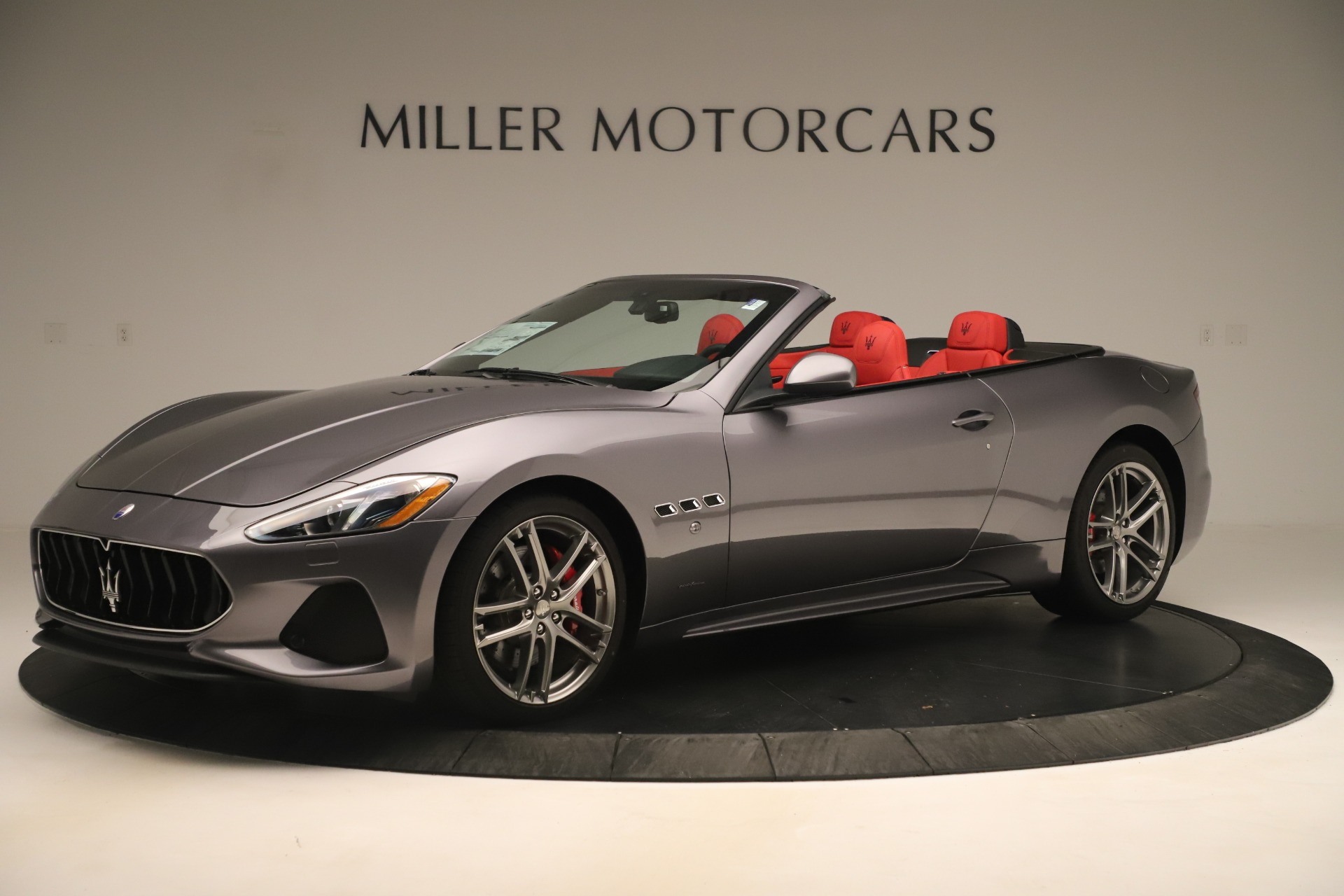 New 2018 Maserati GranTurismo Sport Convertible For Sale In Greenwich, CT 3131_p2