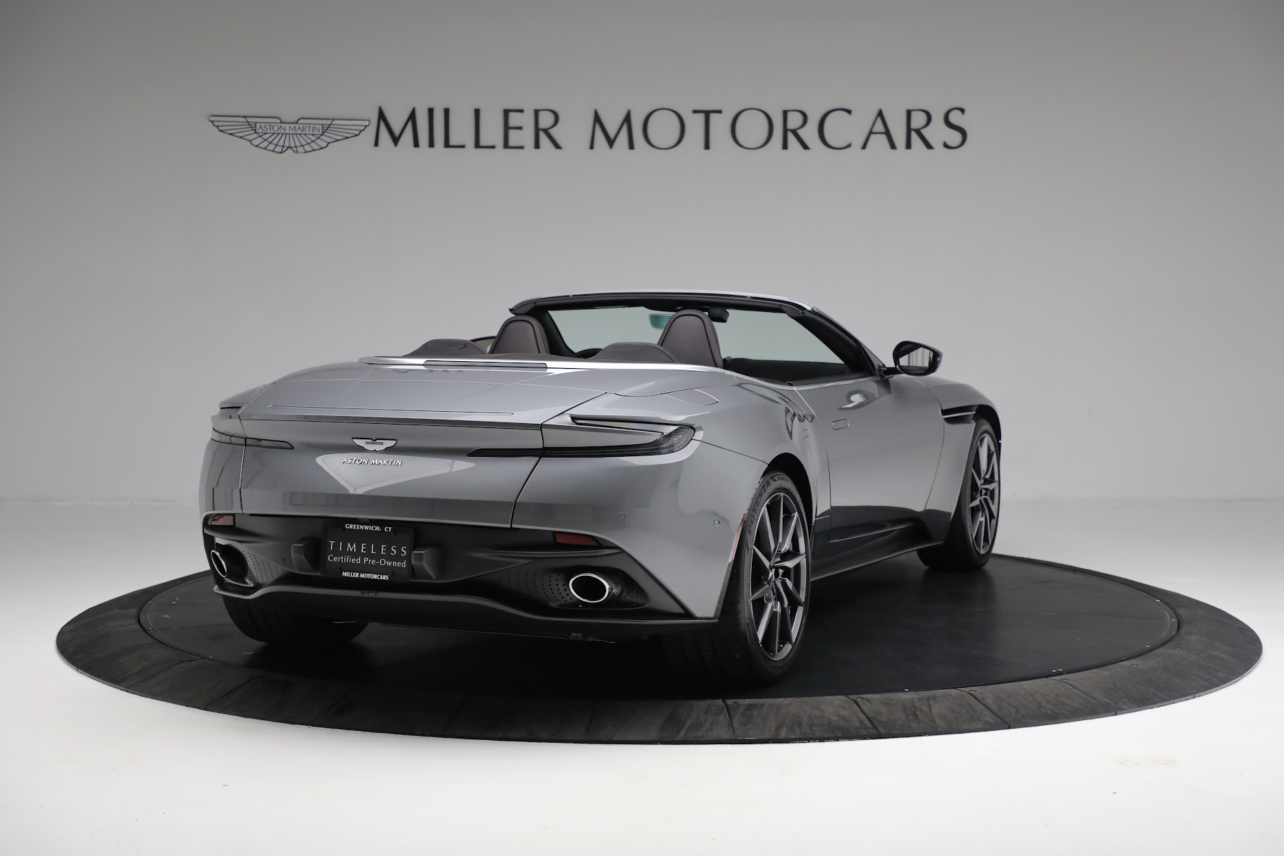 New 2019 Aston Martin DB11 V8 Convertible For Sale In Greenwich, CT 3136_p6