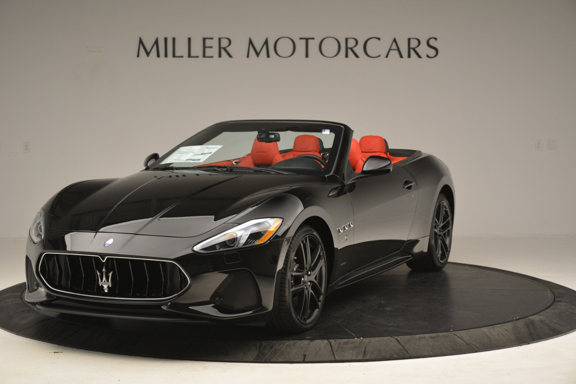 New 2018 Maserati GranTurismo Sport Convertible For Sale In Greenwich, CT 3137_main