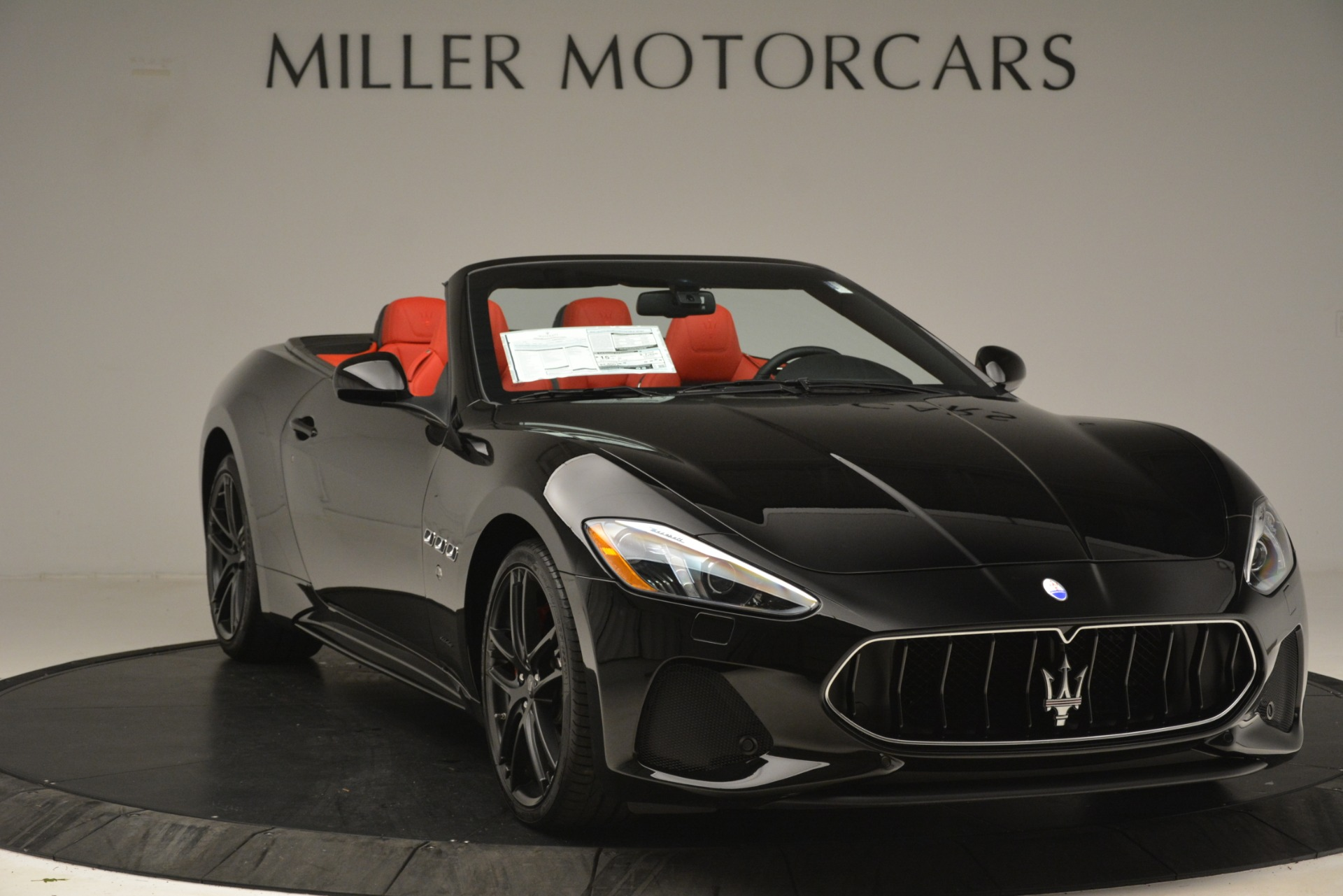 New 2018 Maserati GranTurismo Sport Convertible For Sale In Greenwich, CT 3137_p21