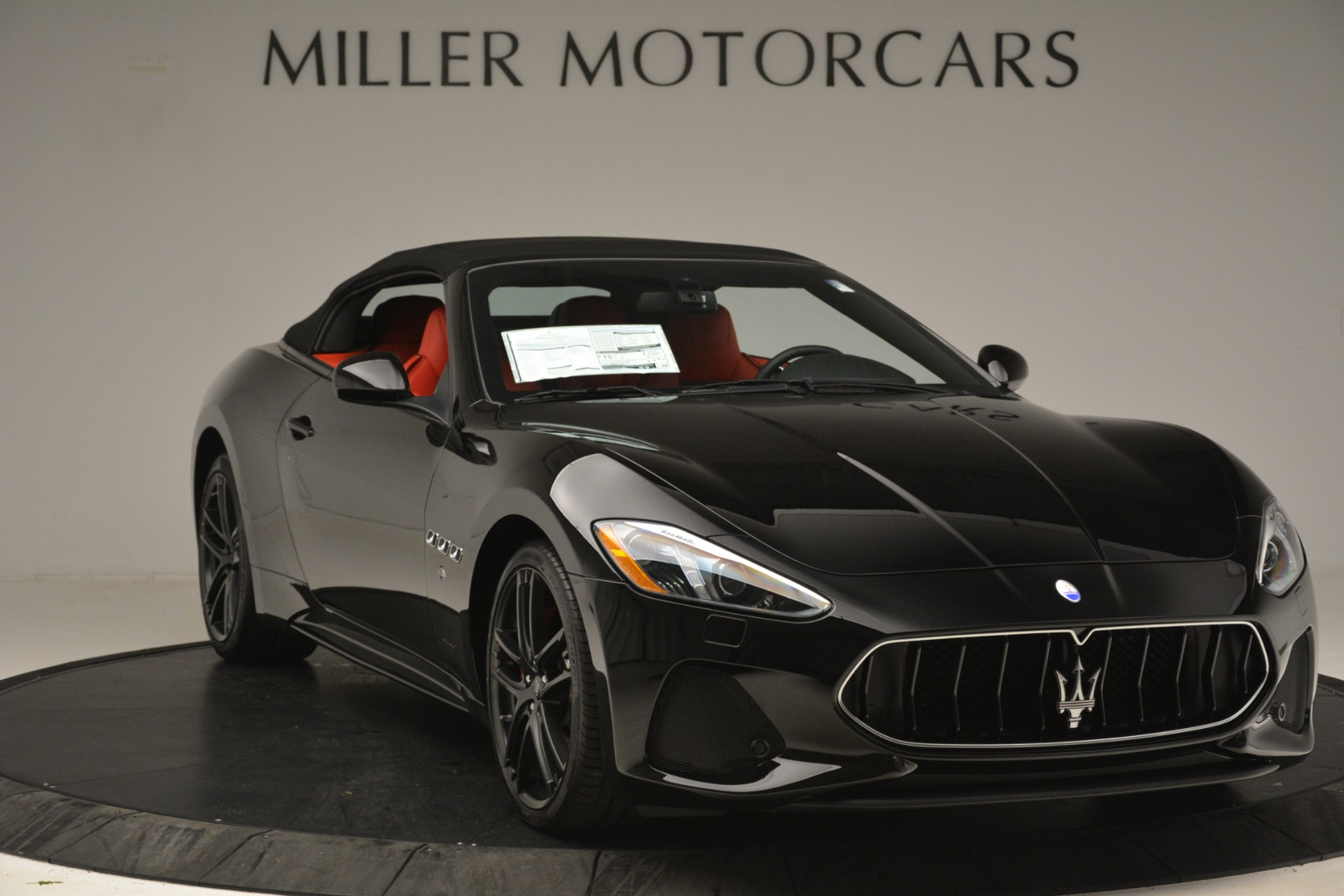 New 2018 Maserati GranTurismo Sport Convertible For Sale In Greenwich, CT 3137_p22