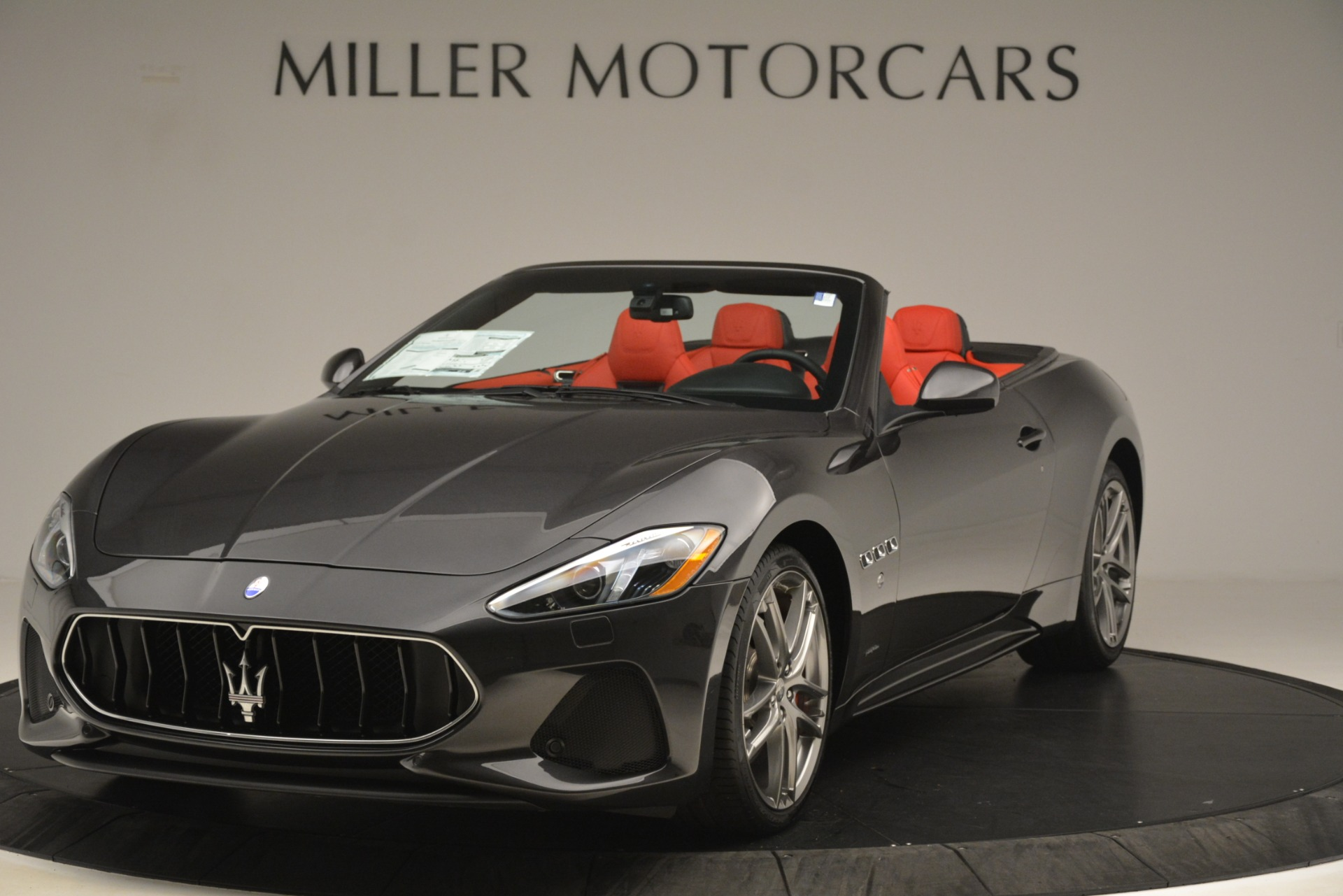 New 2018 Maserati GranTurismo Sport Convertible For Sale In Greenwich, CT 3138_main