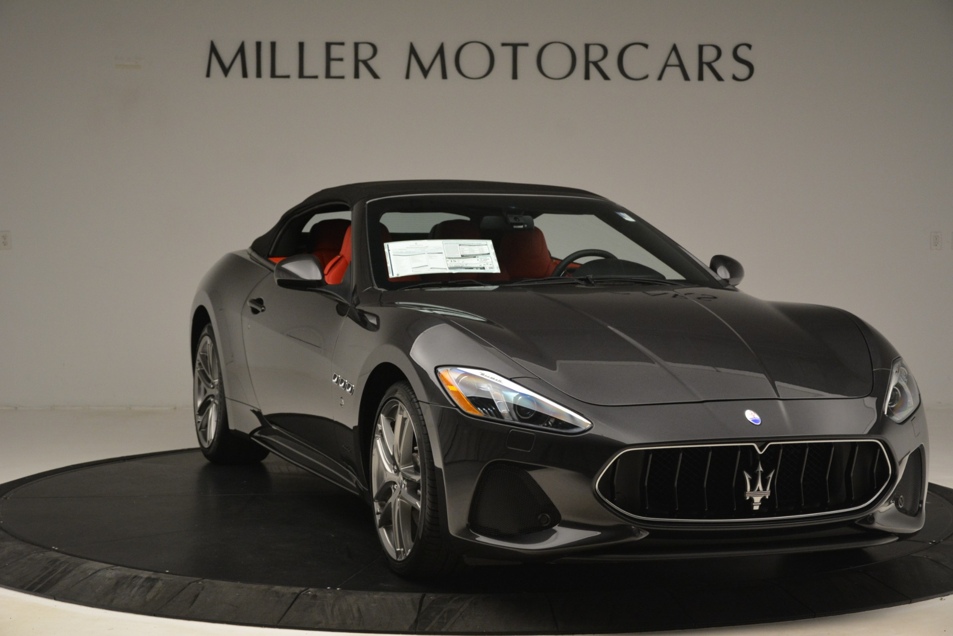 New 2018 Maserati GranTurismo Sport Convertible For Sale In Greenwich, CT 3138_p22