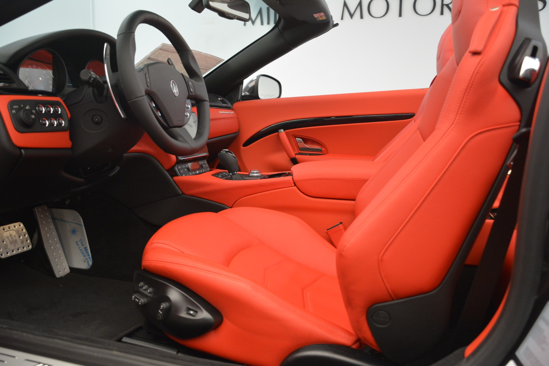 New 2018 Maserati GranTurismo Sport Convertible For Sale In Greenwich, CT 3138_p26
