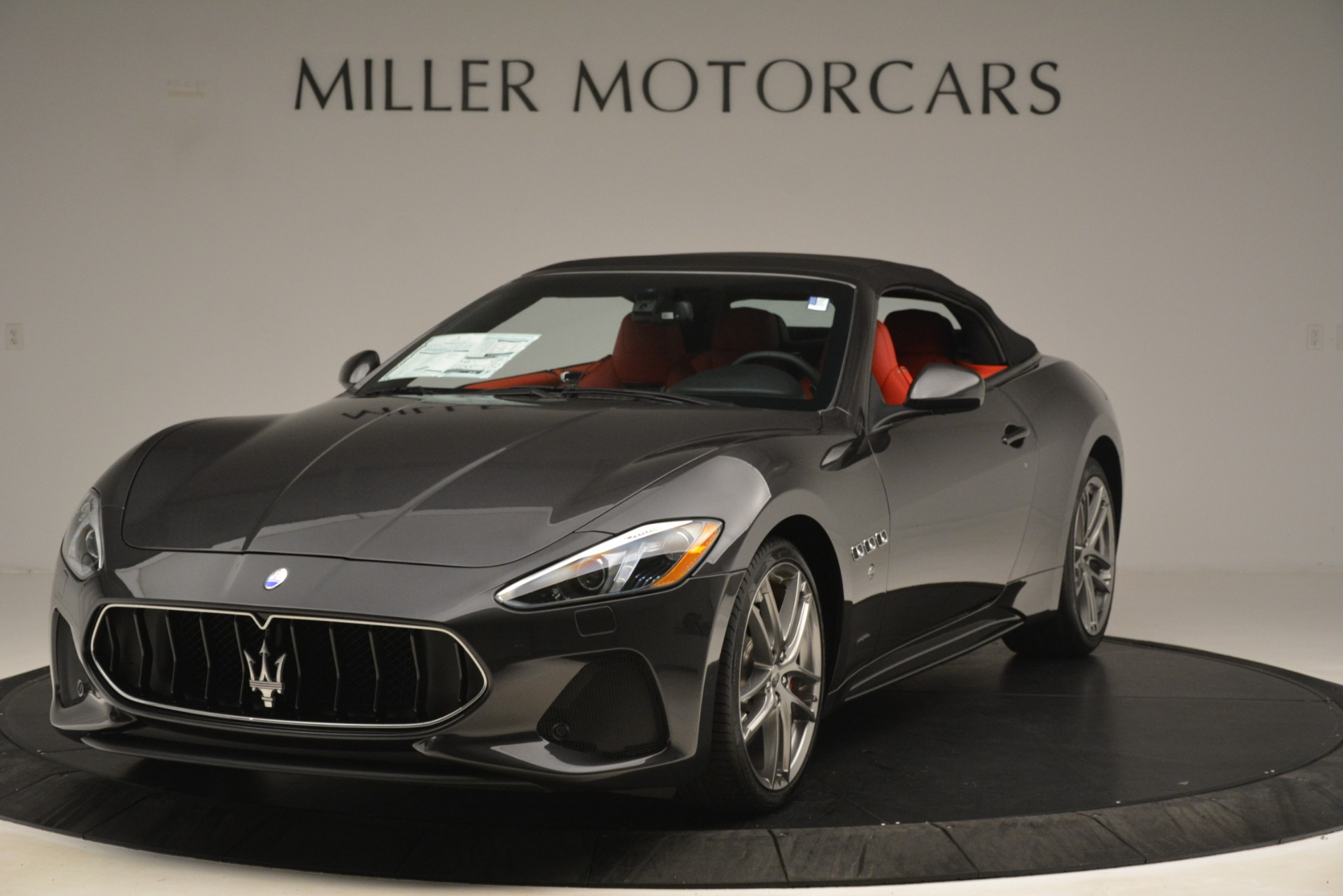 New 2018 Maserati GranTurismo Sport Convertible For Sale In Greenwich, CT 3138_p2