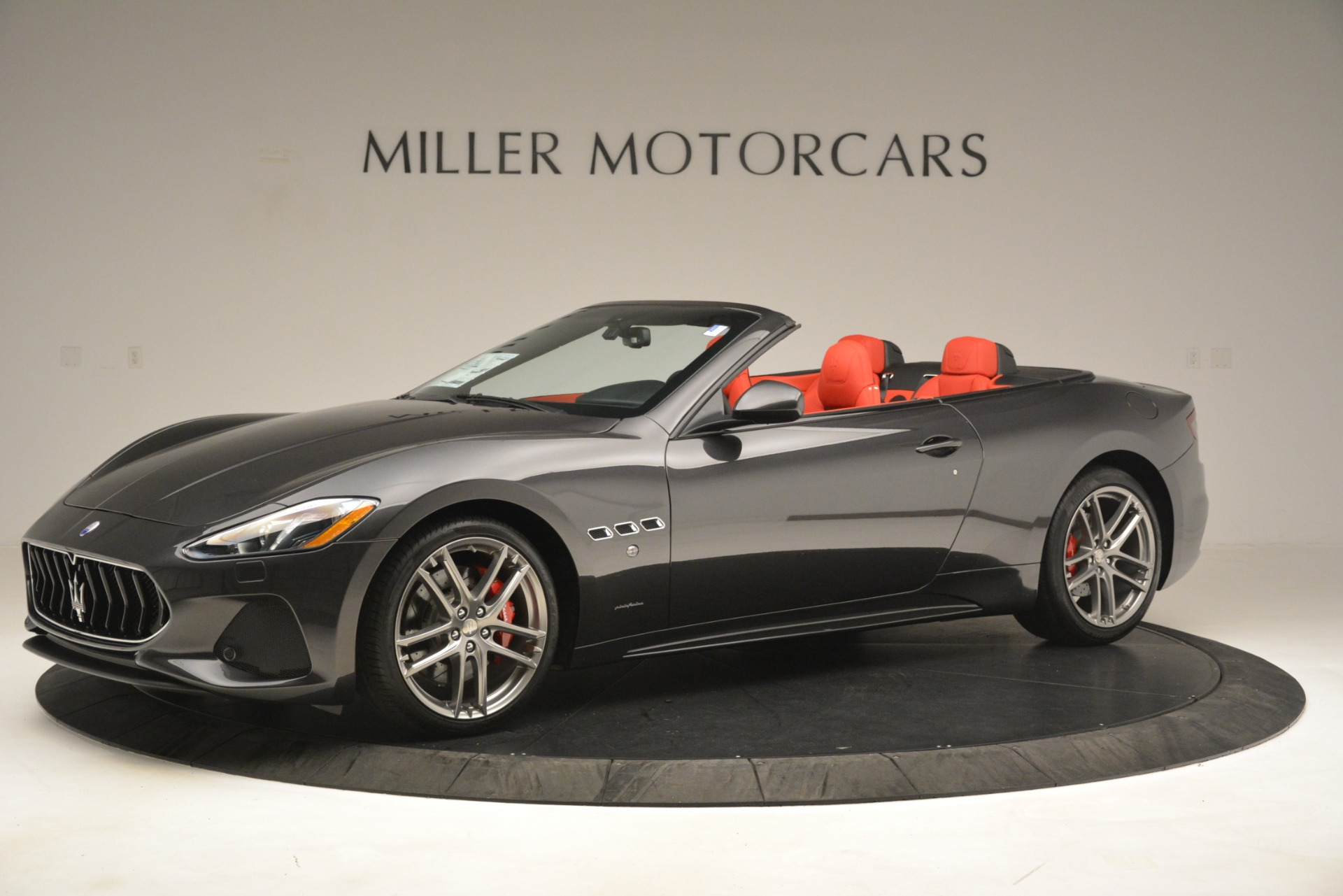 New 2018 Maserati GranTurismo Sport Convertible For Sale In Greenwich, CT 3138_p3