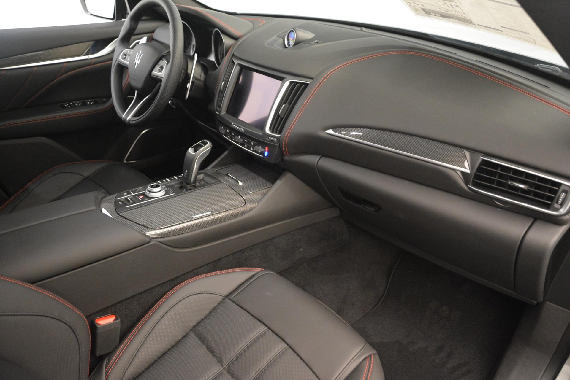 New 2019 Maserati Levante SQ4 GranSport Nerissimo For Sale In Greenwich, CT 3144_p22