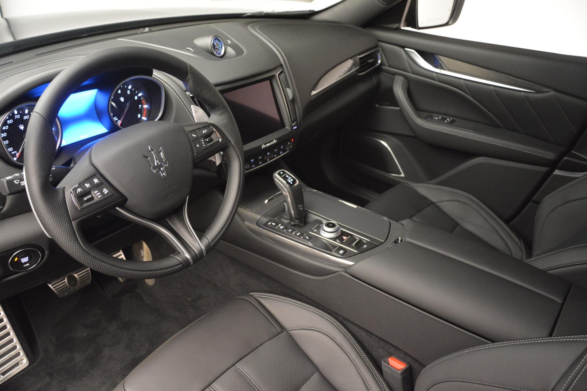 New 2019 Maserati Levante SQ4 GranSport Nerissimo For Sale In Greenwich, CT 3146_p13