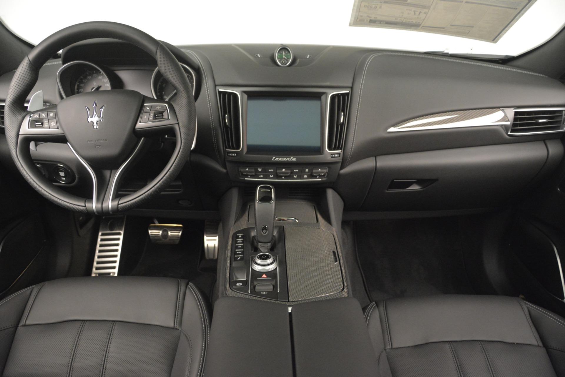 New 2019 Maserati Levante SQ4 GranSport Nerissimo For Sale In Greenwich, CT 3146_p16