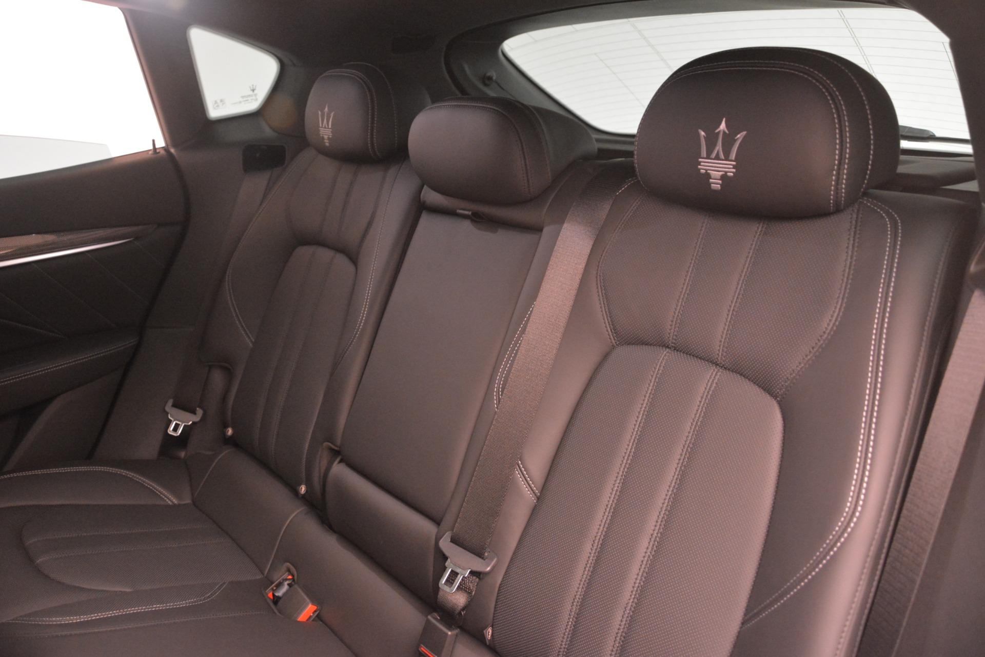 New 2019 Maserati Levante SQ4 GranSport Nerissimo For Sale In Greenwich, CT 3146_p18