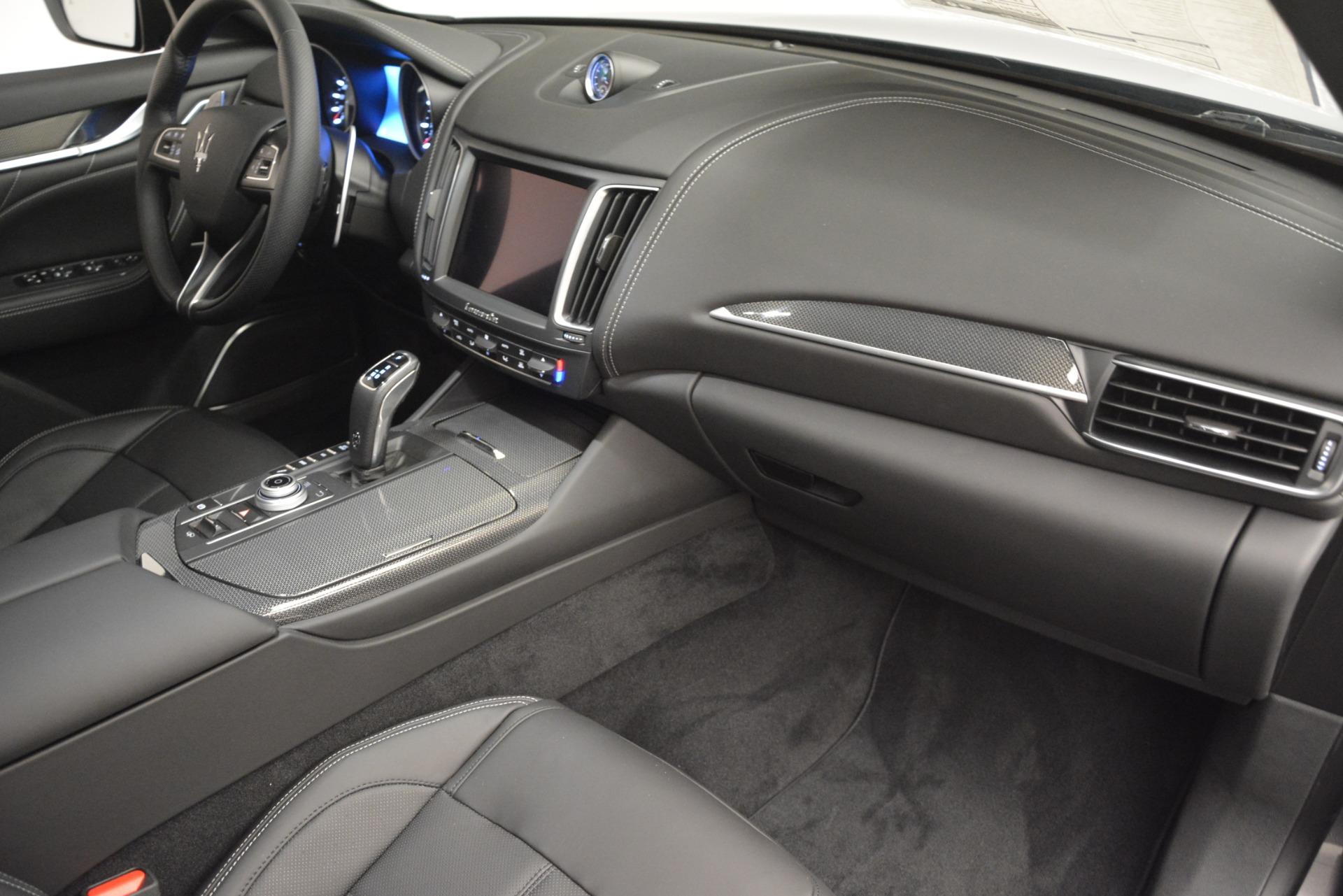 New 2019 Maserati Levante SQ4 GranSport Nerissimo For Sale In Greenwich, CT 3146_p22