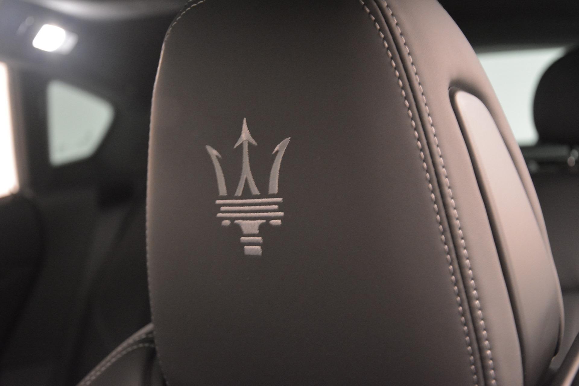 New 2019 Maserati Levante SQ4 GranSport Nerissimo For Sale In Greenwich, CT 3146_p29