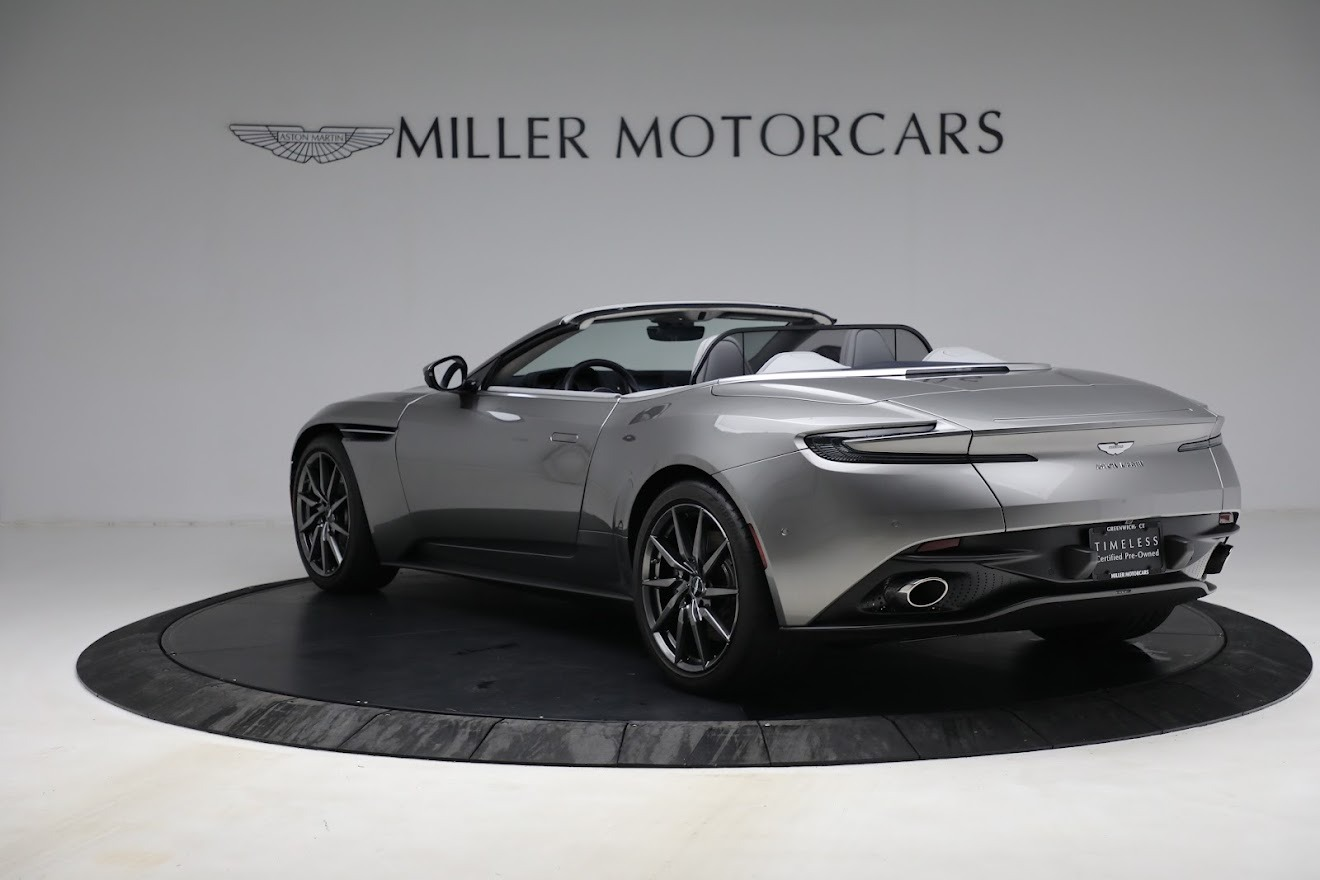 New 2019 Aston Martin DB11 V8 Convertible For Sale In Greenwich, CT 3147_p5