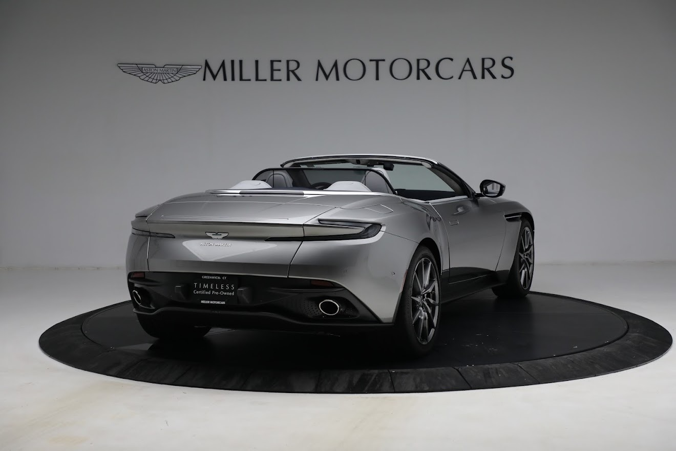 New 2019 Aston Martin DB11 V8 Convertible For Sale In Greenwich, CT 3147_p7