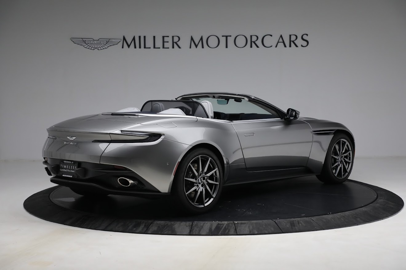 New 2019 Aston Martin DB11 V8 Convertible For Sale In Greenwich, CT 3147_p8