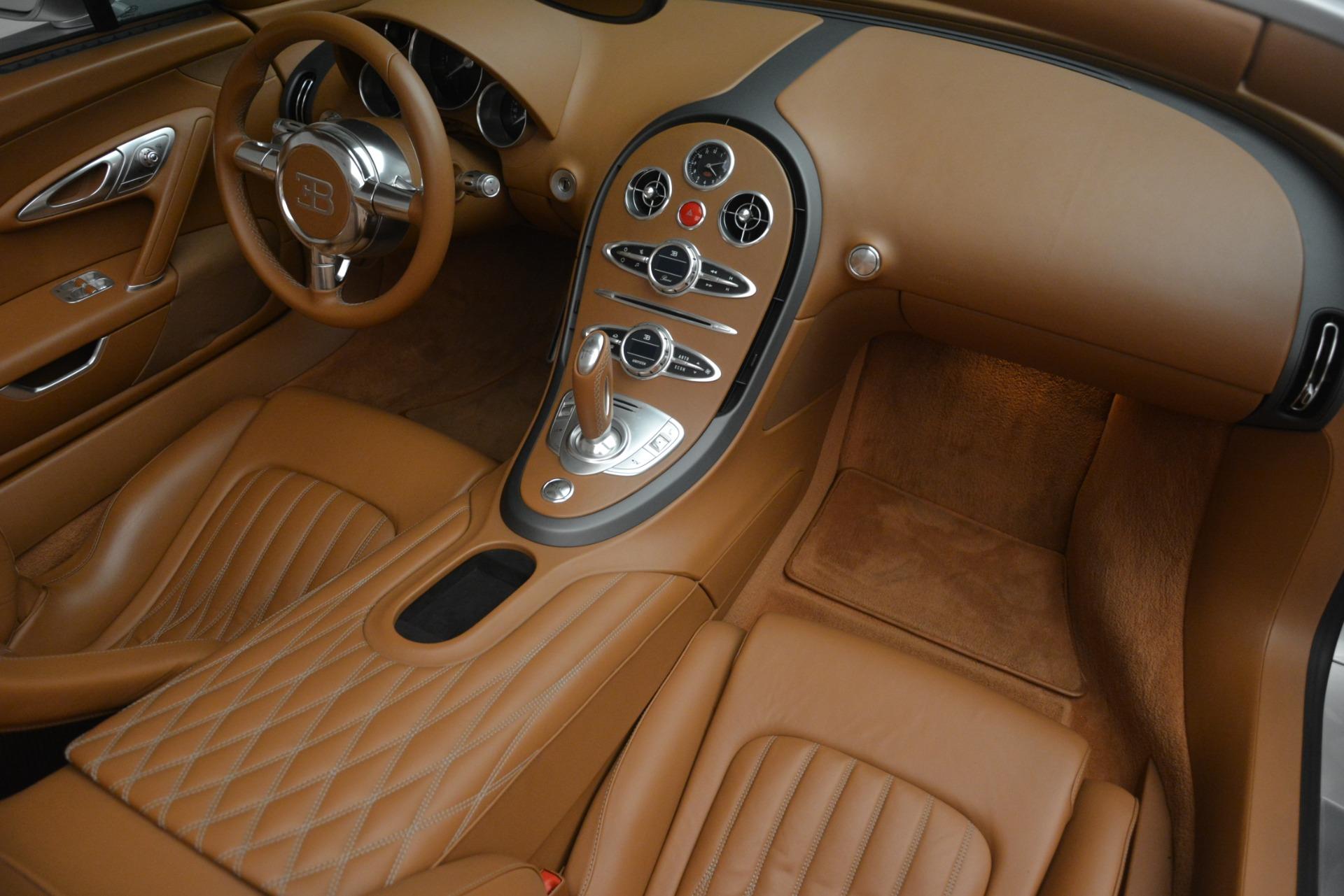Used 2010 Bugatti Veyron 16.4 Grand Sport For Sale In Greenwich, CT 3159_p37
