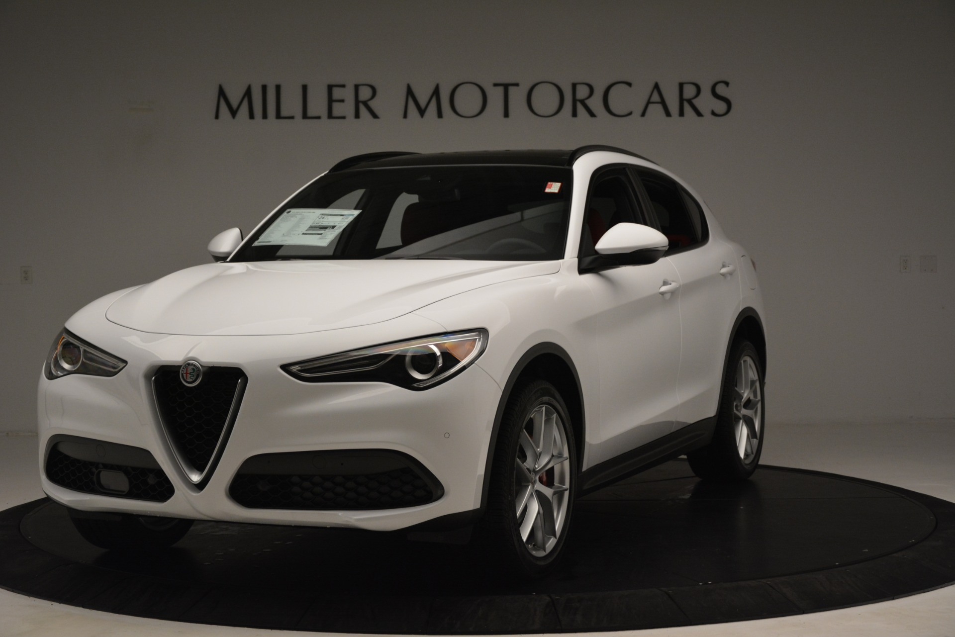 New 2019 Alfa Romeo Stelvio Ti Sport Q4 For Sale In Greenwich, CT 3173_main