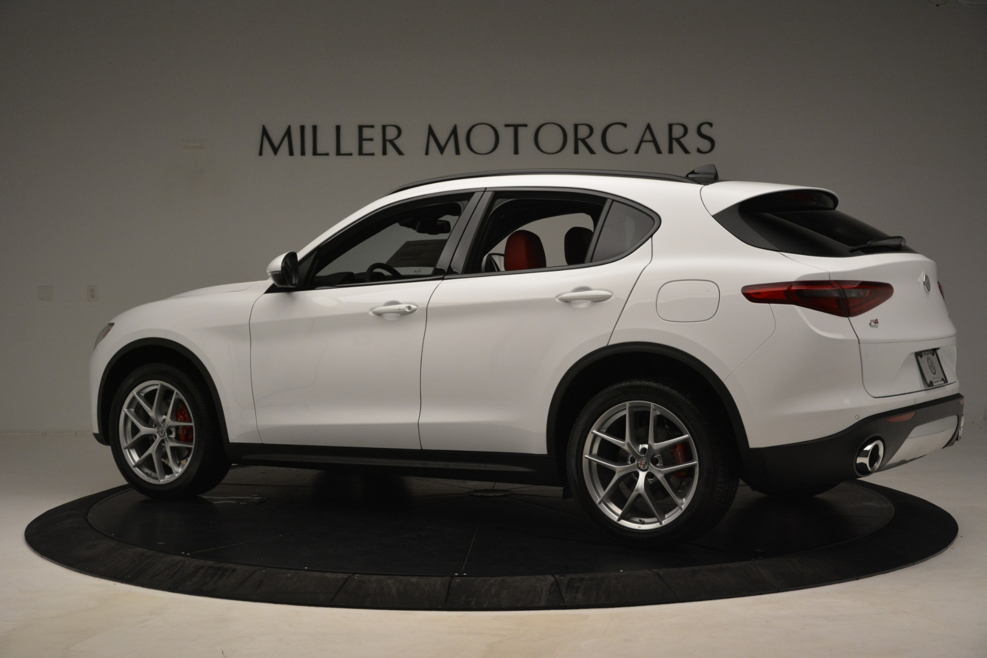 New 2019 Alfa Romeo Stelvio Ti Sport Q4 For Sale In Greenwich, CT 3173_p4