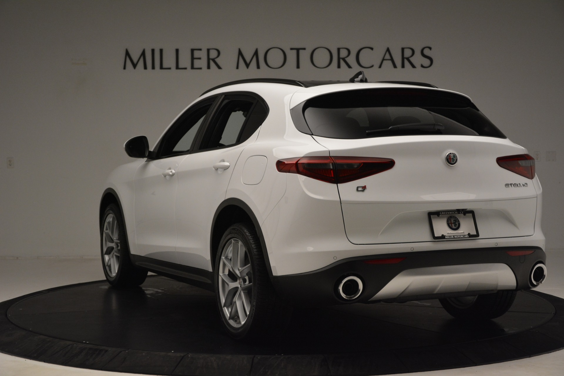 New 2019 Alfa Romeo Stelvio Ti Sport Q4 For Sale In Greenwich, CT 3173_p5