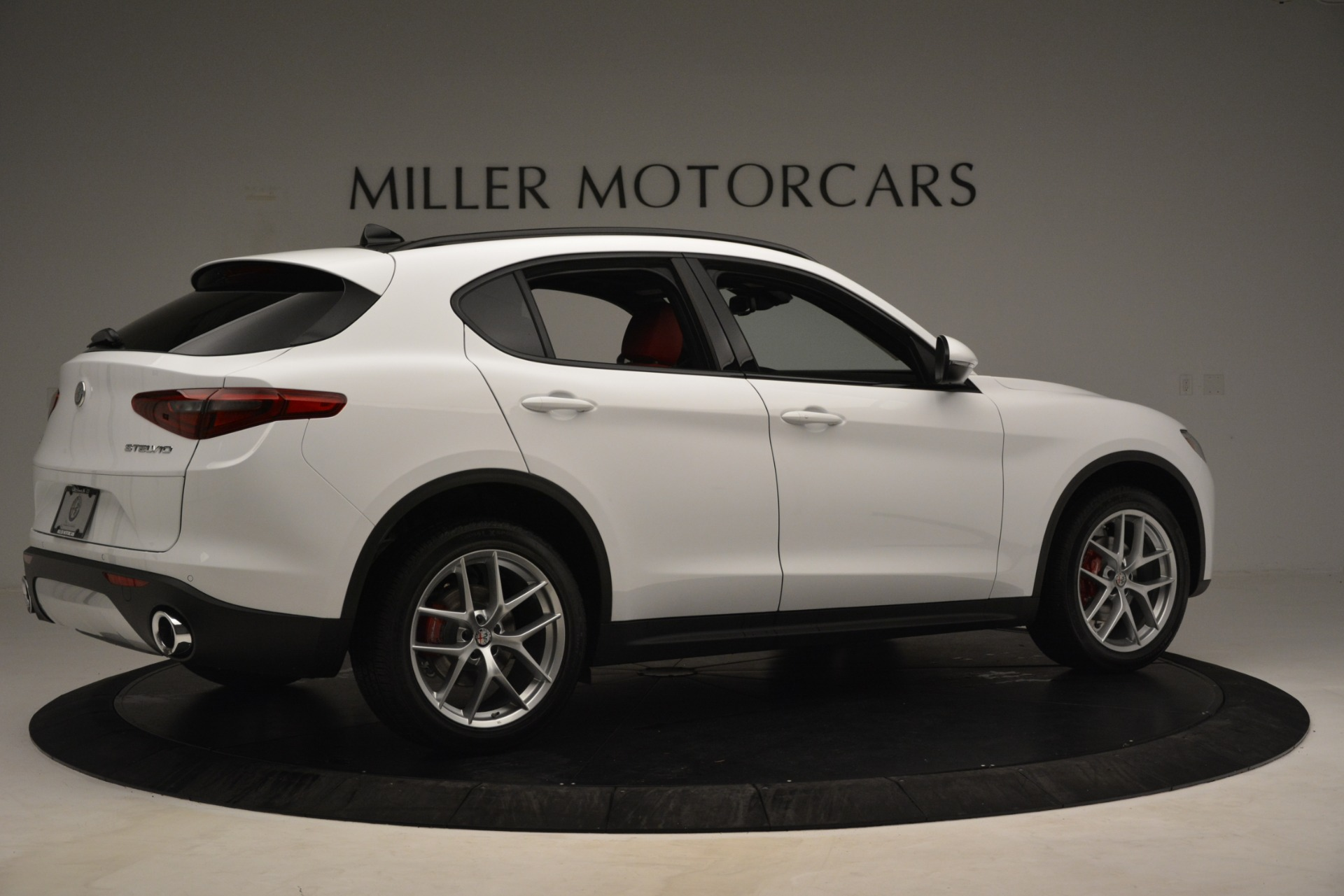 New 2019 Alfa Romeo Stelvio Ti Sport Q4 For Sale In Greenwich, CT 3173_p7